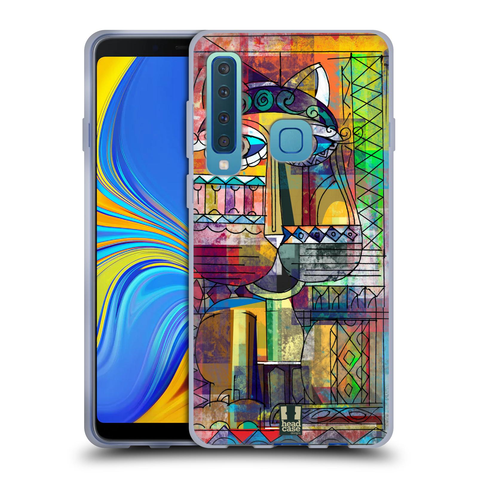 Silikonové pouzdro na mobil Samsung Galaxy A9 (2018) - Head Case - AZTEC KORAT