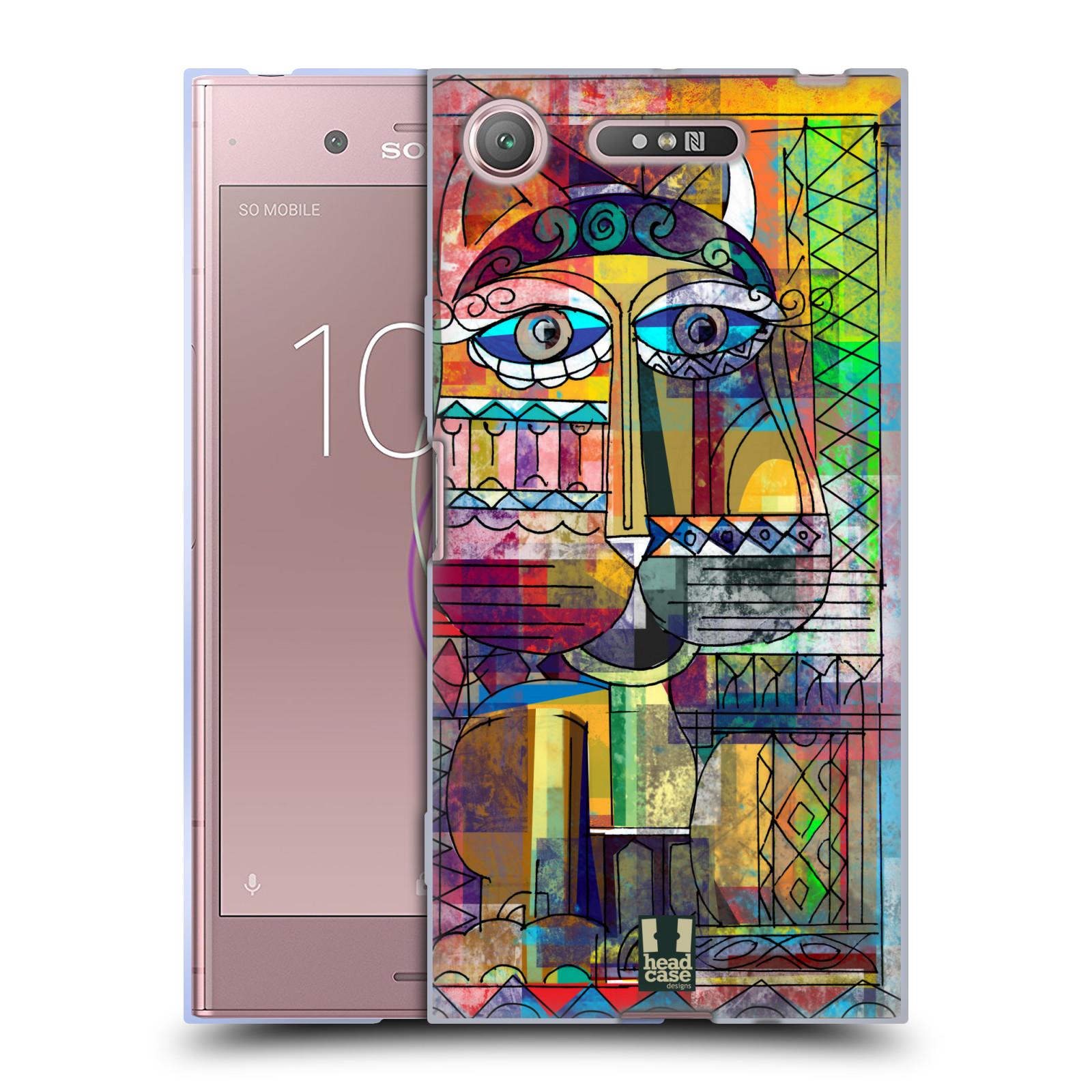 Silikonové pouzdro na mobil Sony Xperia XZ1 - Head Case - AZTEC KORAT