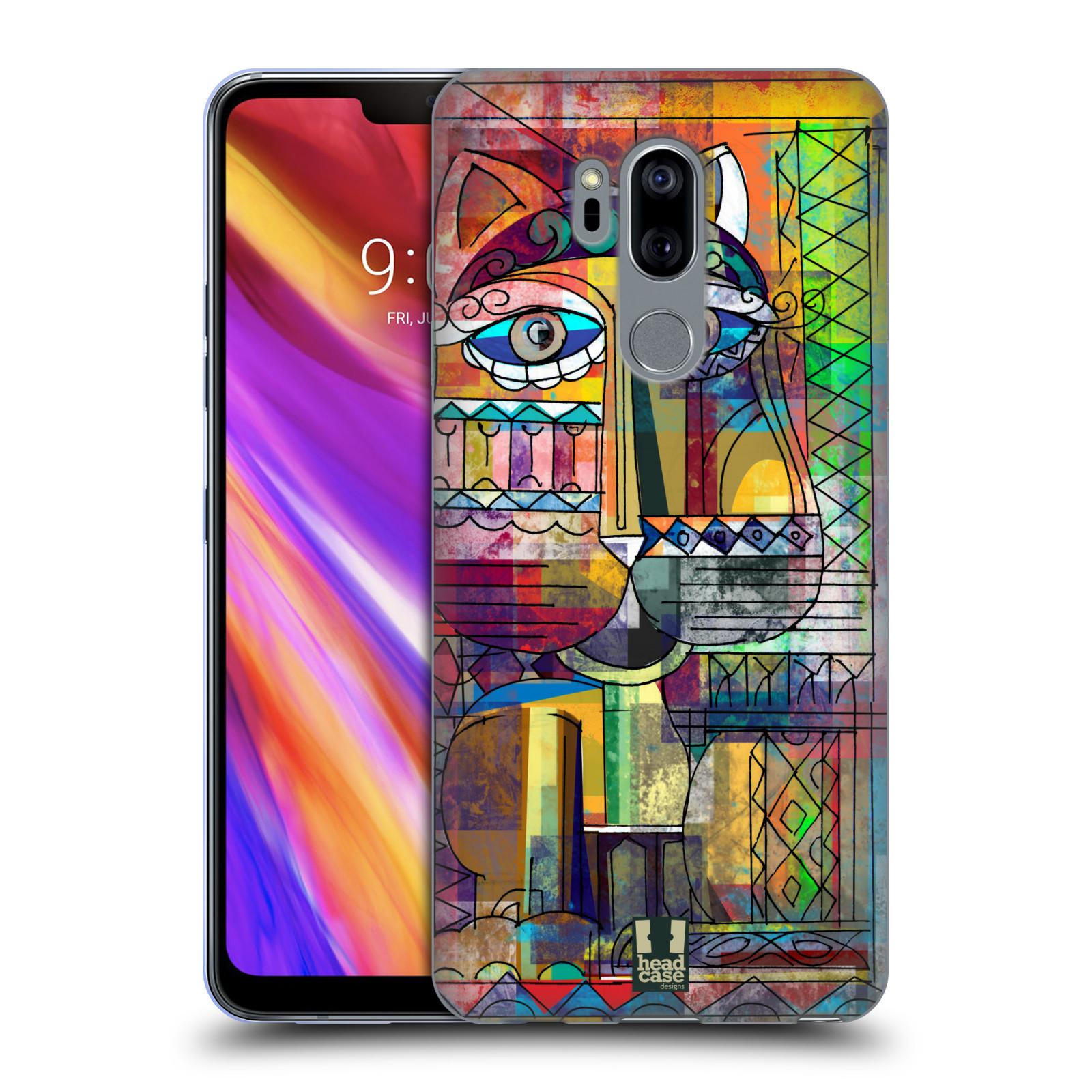 Silikonové pouzdro na mobil LG G7 ThinQ - Head Case - AZTEC KORAT