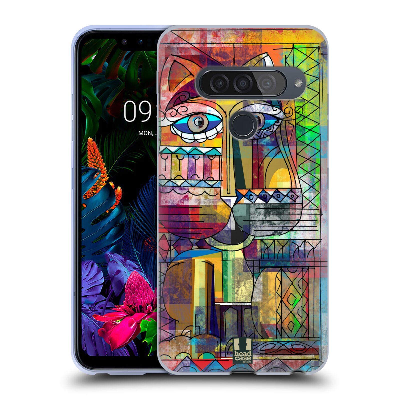 Silikonové pouzdro na mobil LG G8s ThinQ - Head Case - AZTEC KORAT