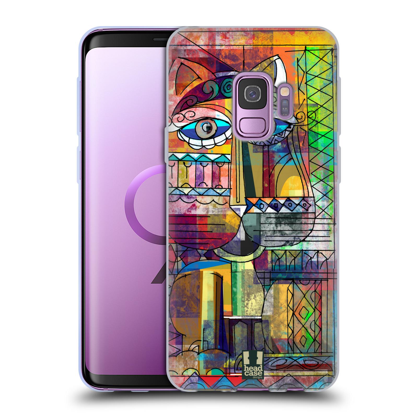 Silikonové pouzdro na mobil Samsung Galaxy S9 - Head Case - AZTEC KORAT