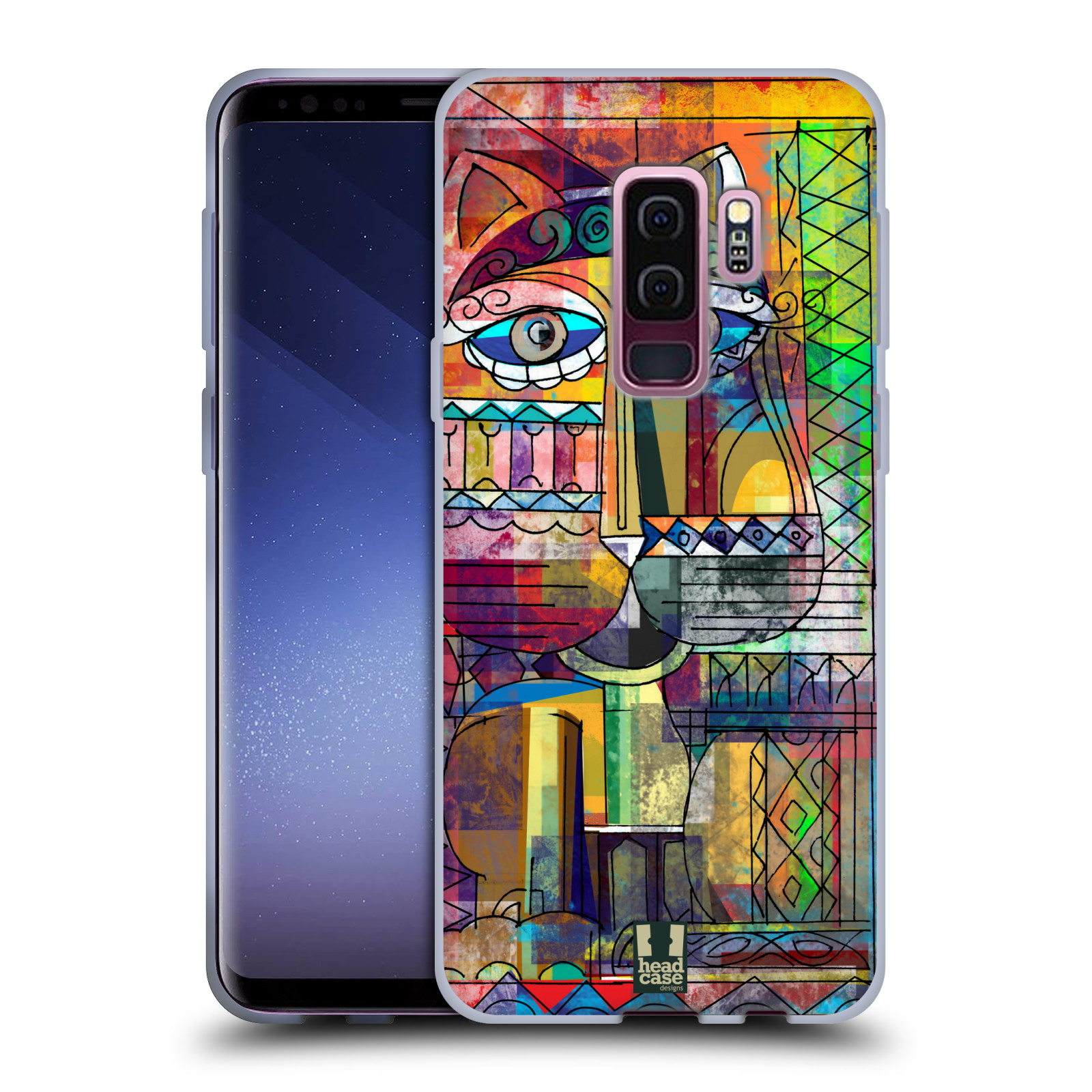 Silikonové pouzdro na mobil Samsung Galaxy S9 Plus - Head Case - AZTEC KORAT