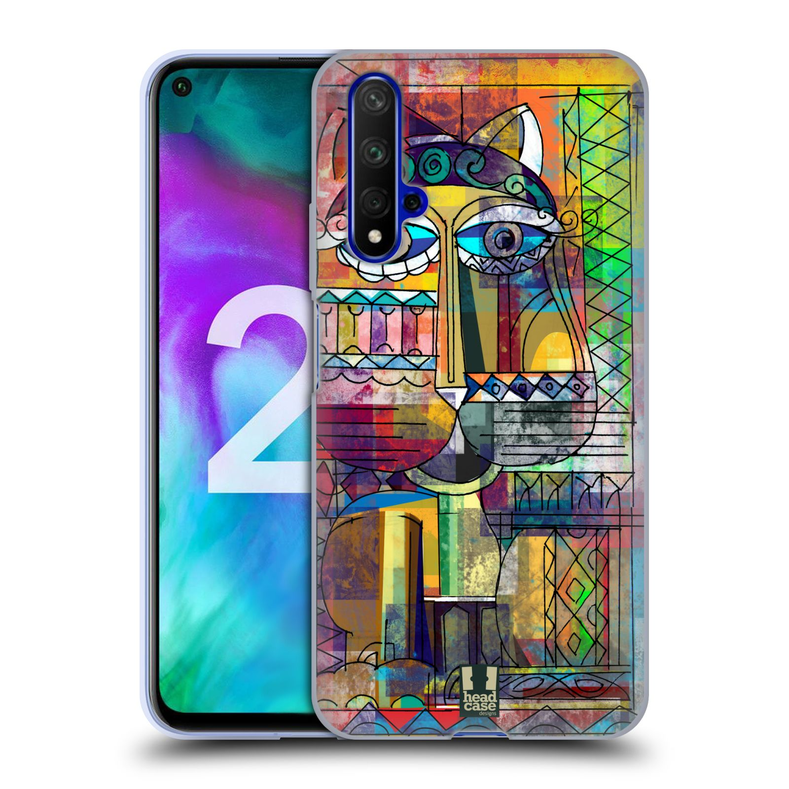 Silikonové pouzdro na mobil Honor 20 - Head Case - AZTEC KORAT