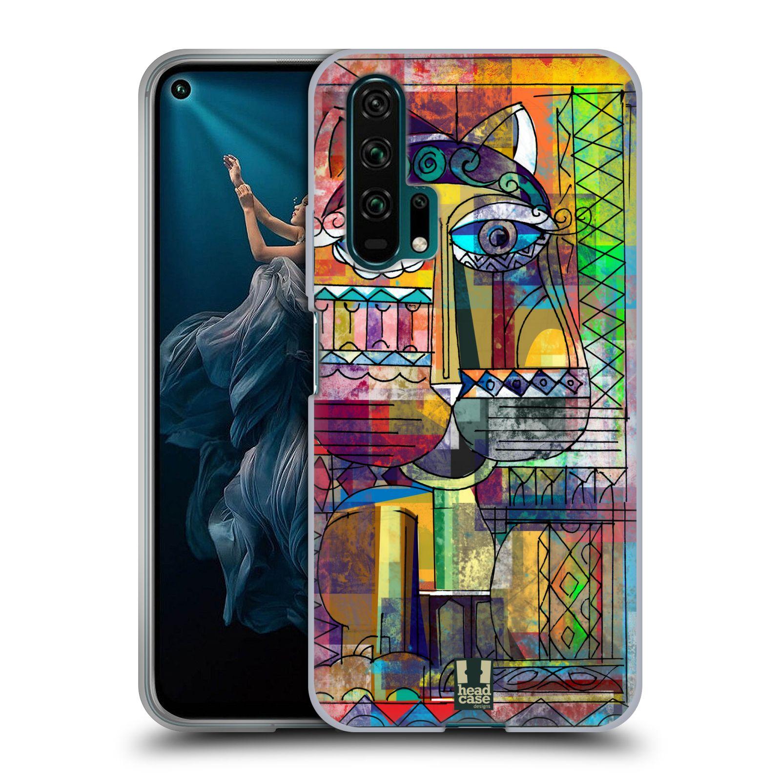 Silikonové pouzdro na mobil Honor 20 Pro - Head Case - AZTEC KORAT