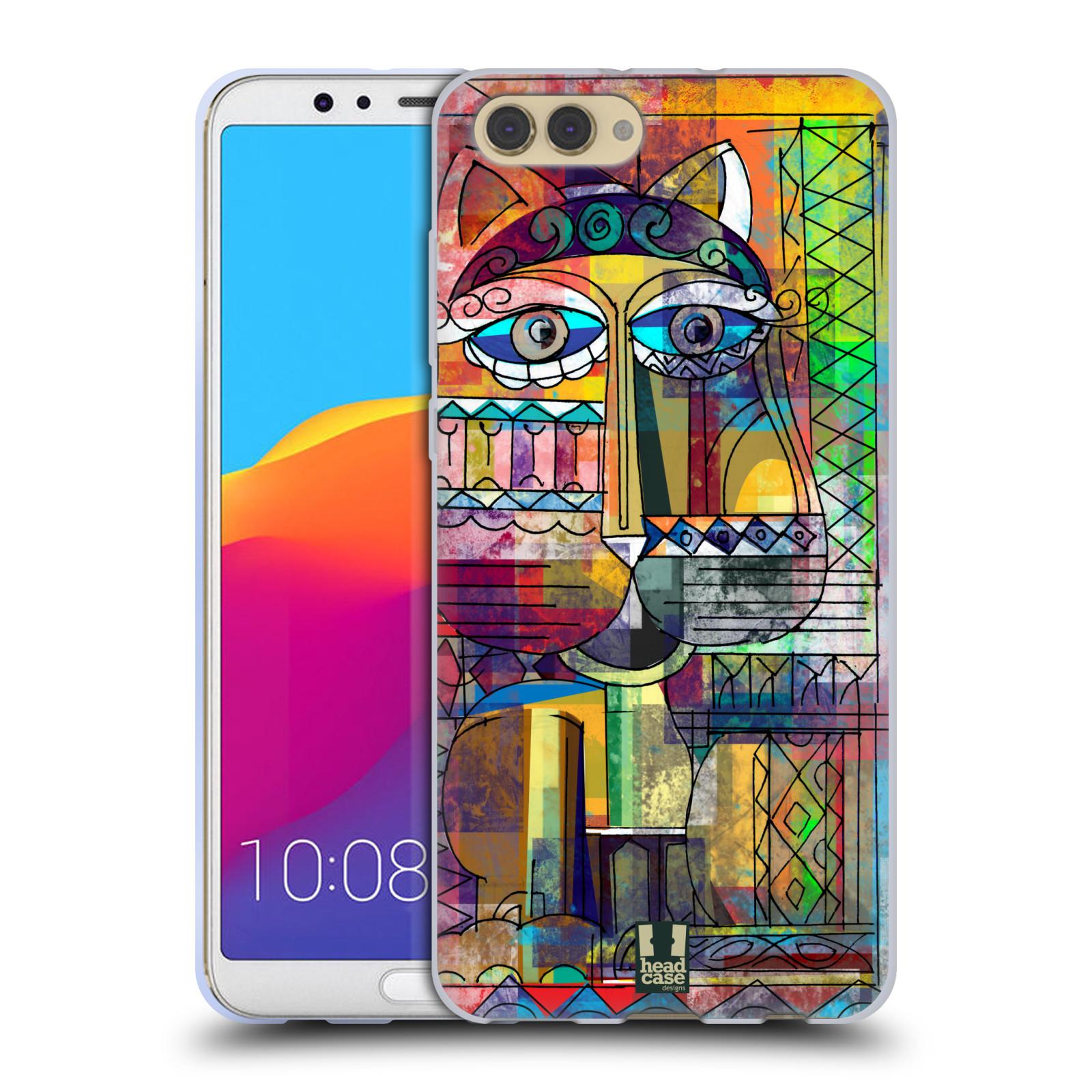 Silikonové pouzdro na mobil Honor View 10 - Head Case - AZTEC KORAT