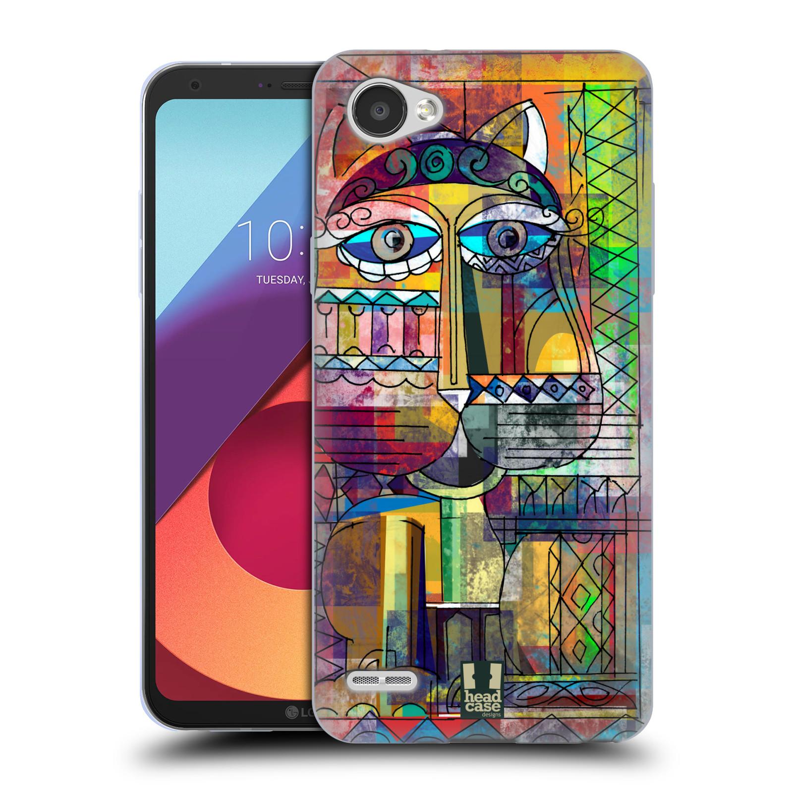 Silikonové pouzdro na mobil LG Q6 - Head Case - AZTEC KORAT