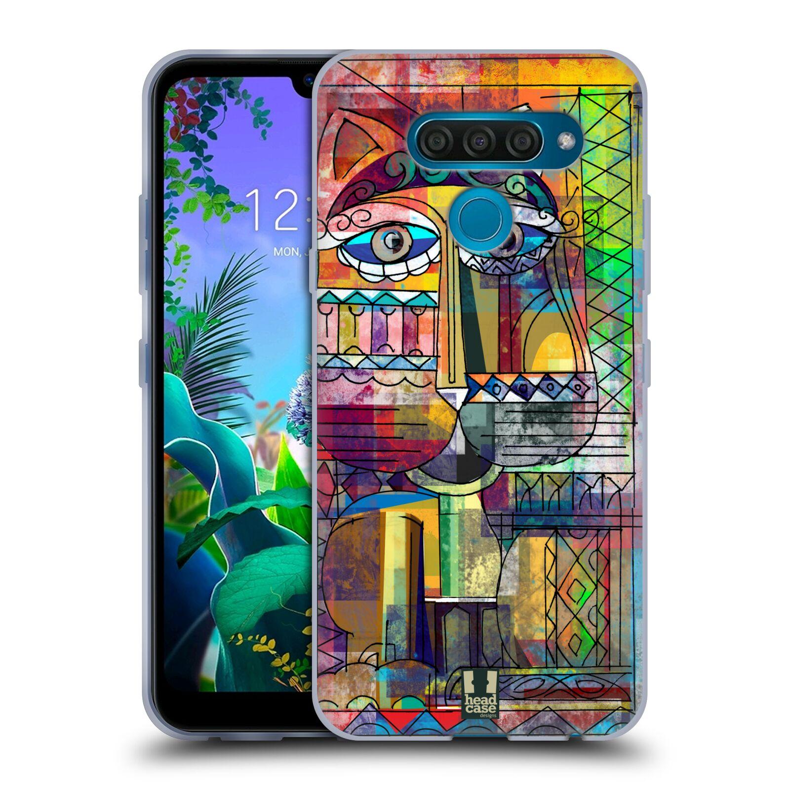 Silikonové pouzdro na mobil LG Q60 - Head Case - AZTEC KORAT