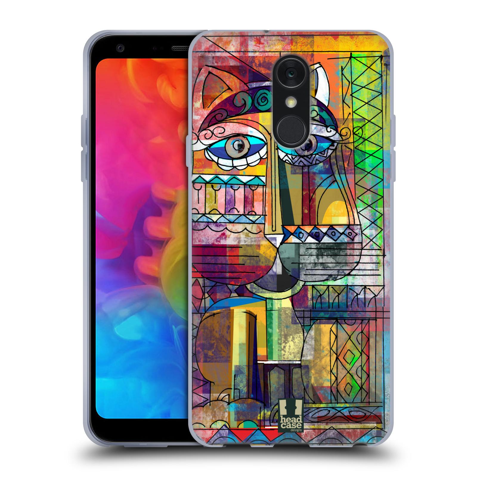 Silikonové pouzdro na mobil LG Q7 - Head Case - AZTEC KORAT