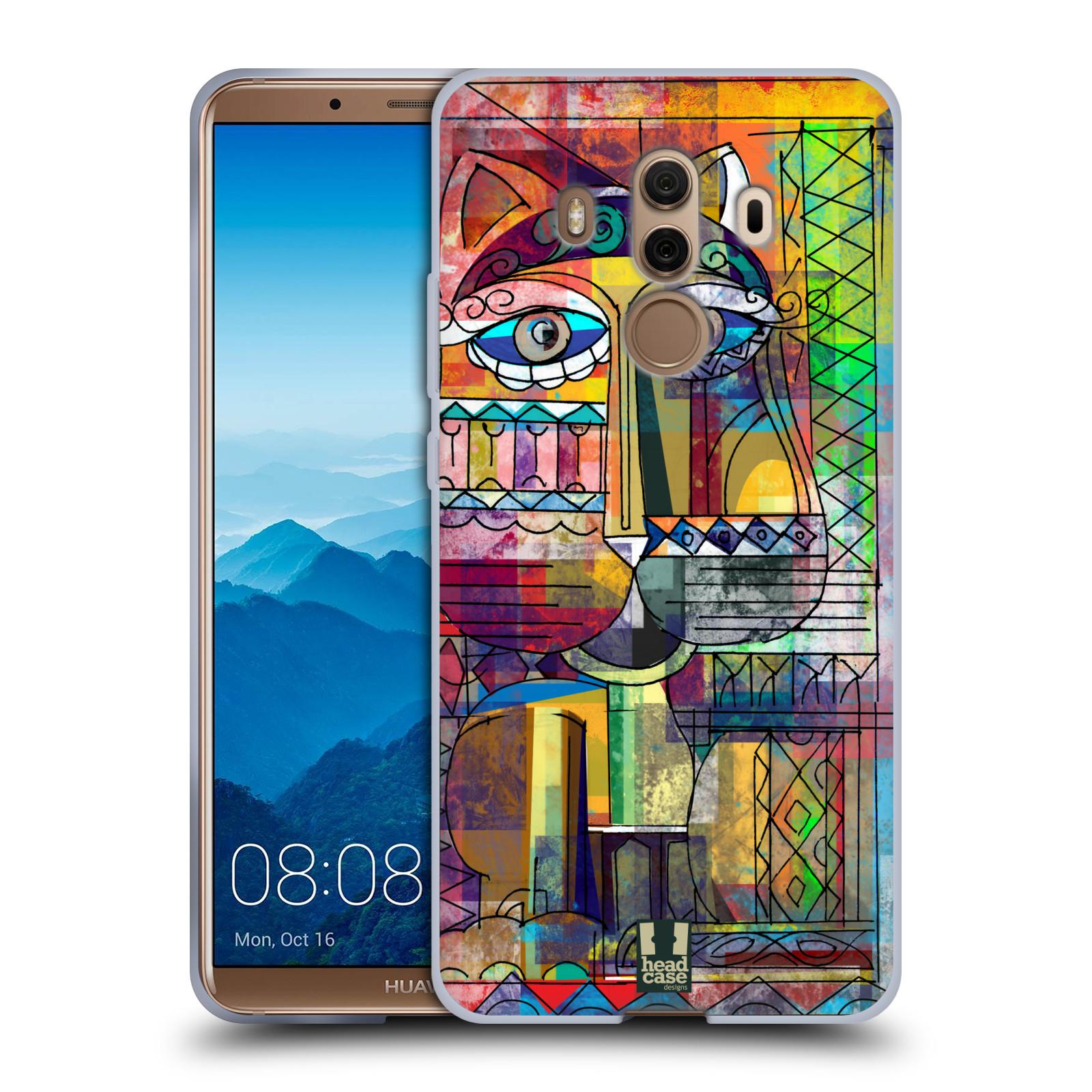Silikonové pouzdro na mobil Huawei Mate 10 Pro - Head Case - AZTEC KORAT