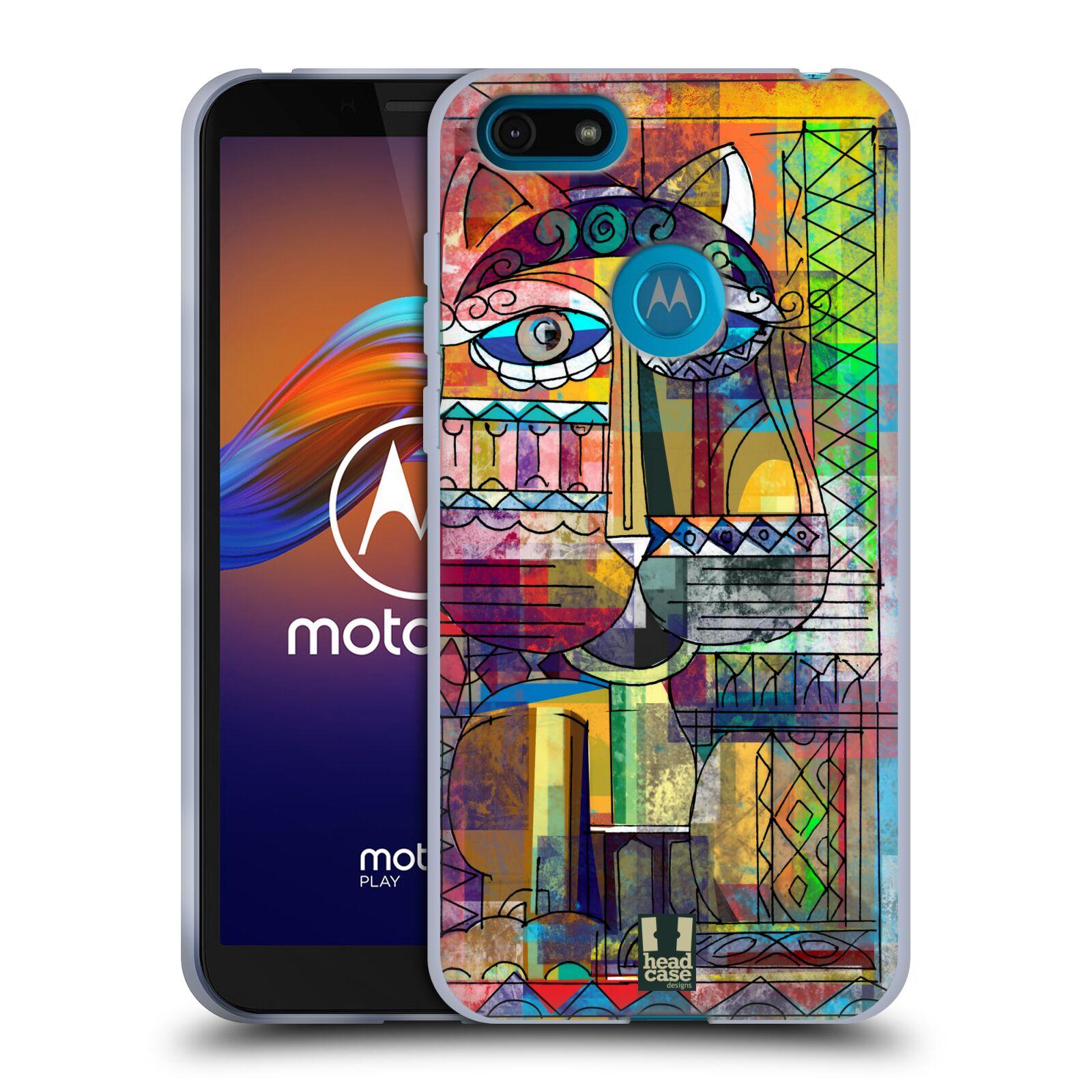Silikonové pouzdro na mobil Motorola Moto E6 Play - Head Case - AZTEC KORAT