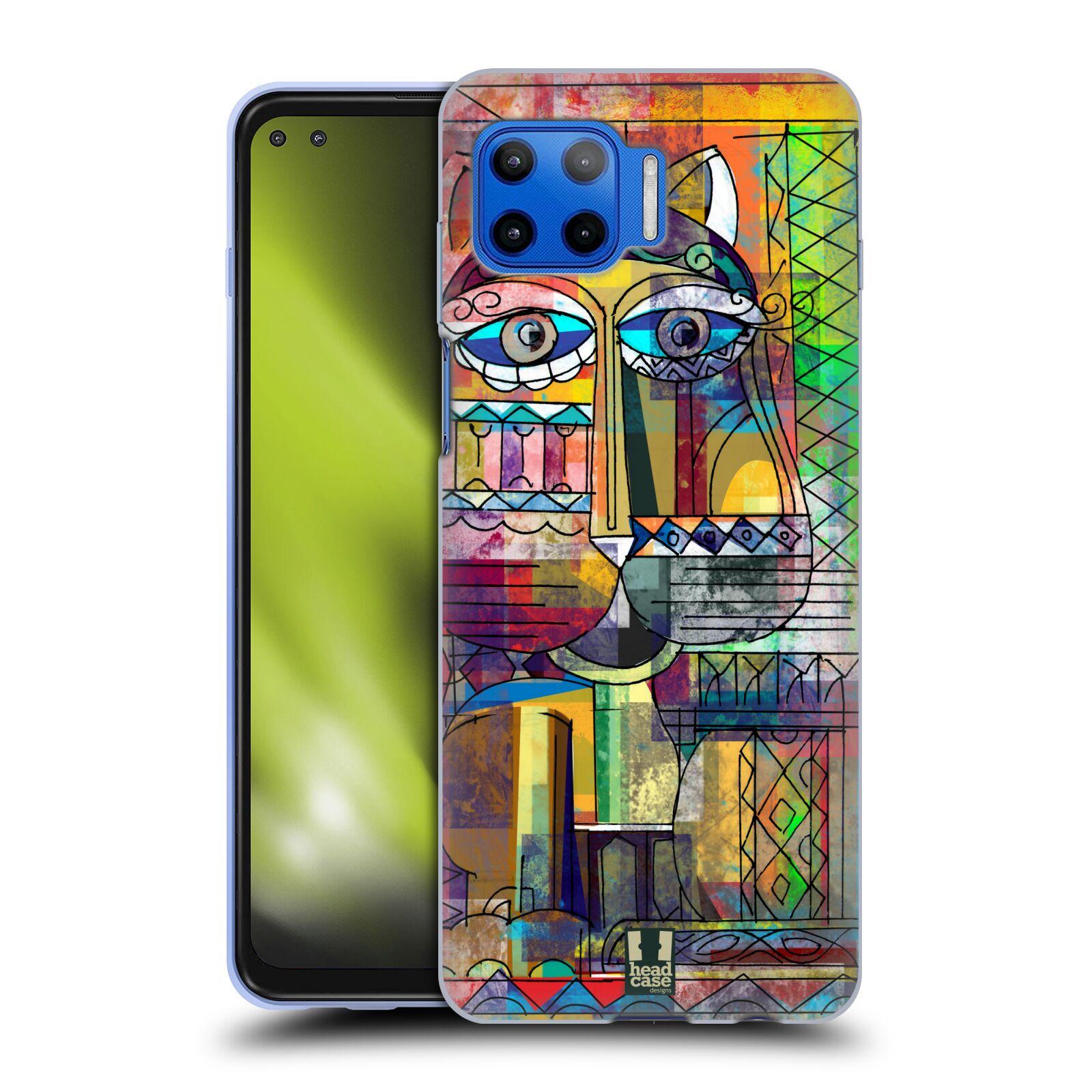 Silikonové pouzdro na mobil Motorola Moto G 5G Plus - Head Case - AZTEC KORAT