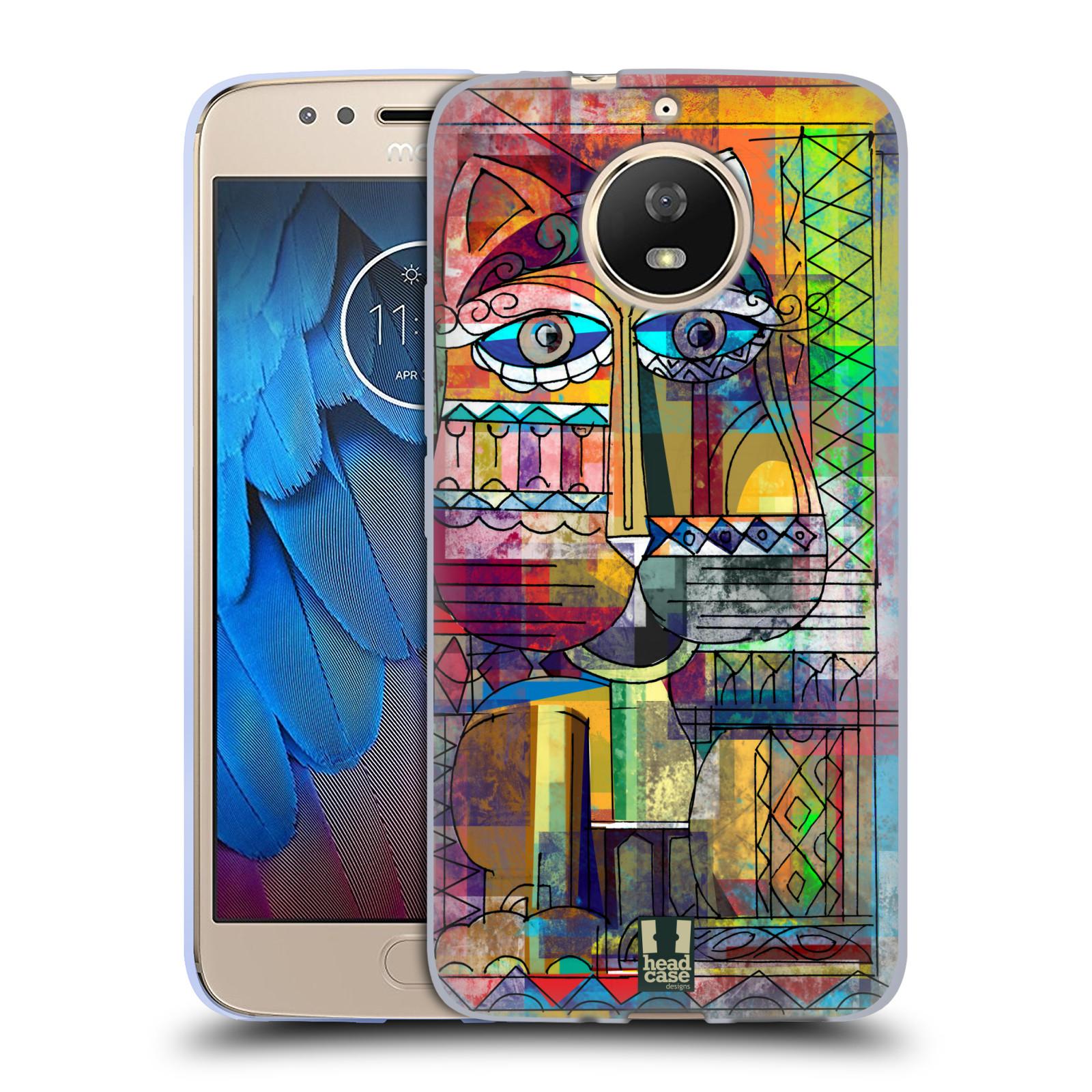 Silikonové pouzdro na mobil Lenovo Moto G5s - Head Case - AZTEC KORAT