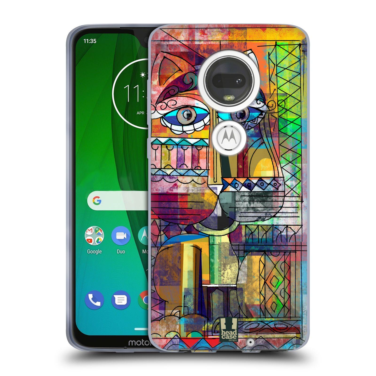 Silikonové pouzdro na mobil Motorola Moto G7 - Head Case - AZTEC KORAT