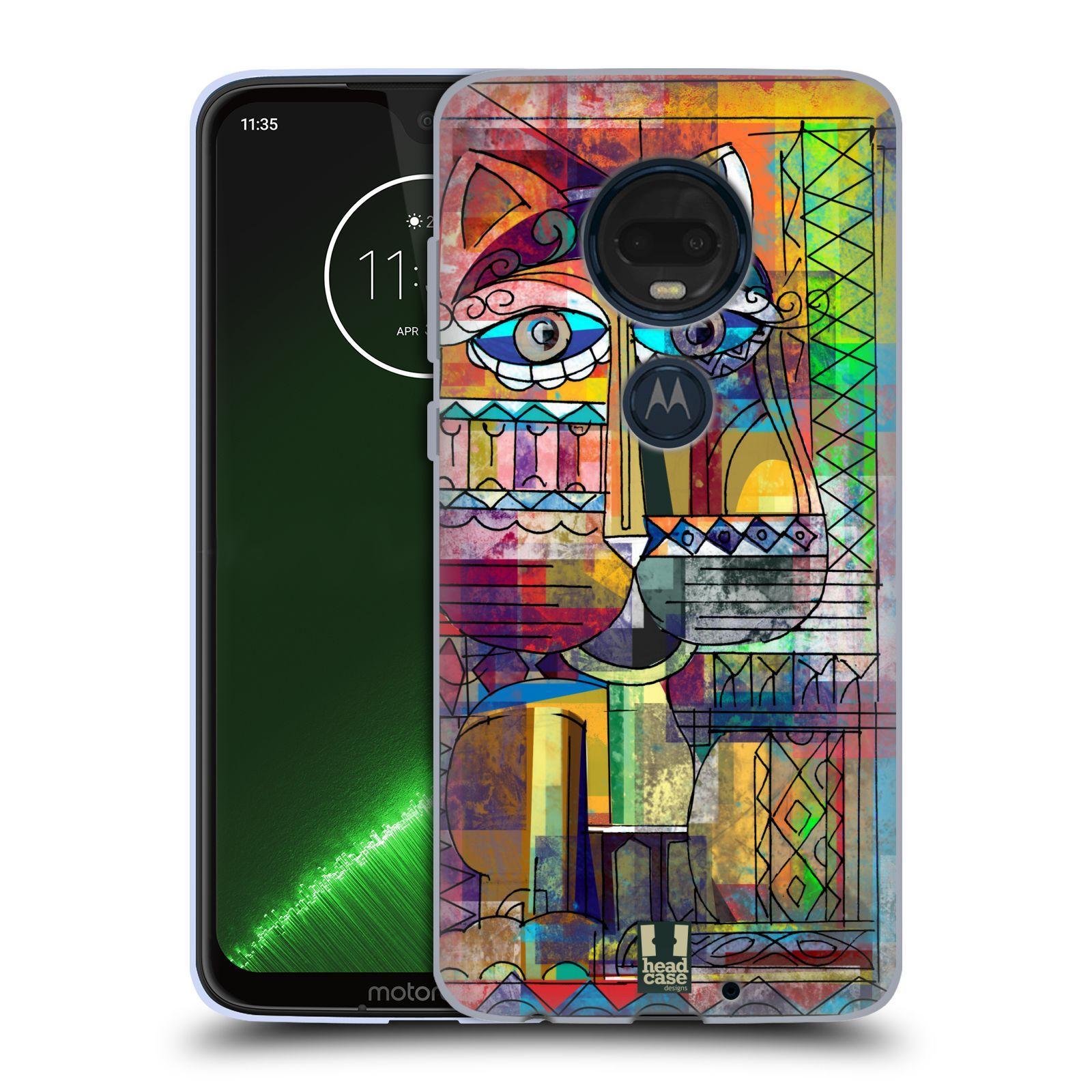 Silikonové pouzdro na mobil Motorola Moto G7 Plus - Head Case - AZTEC KORAT
