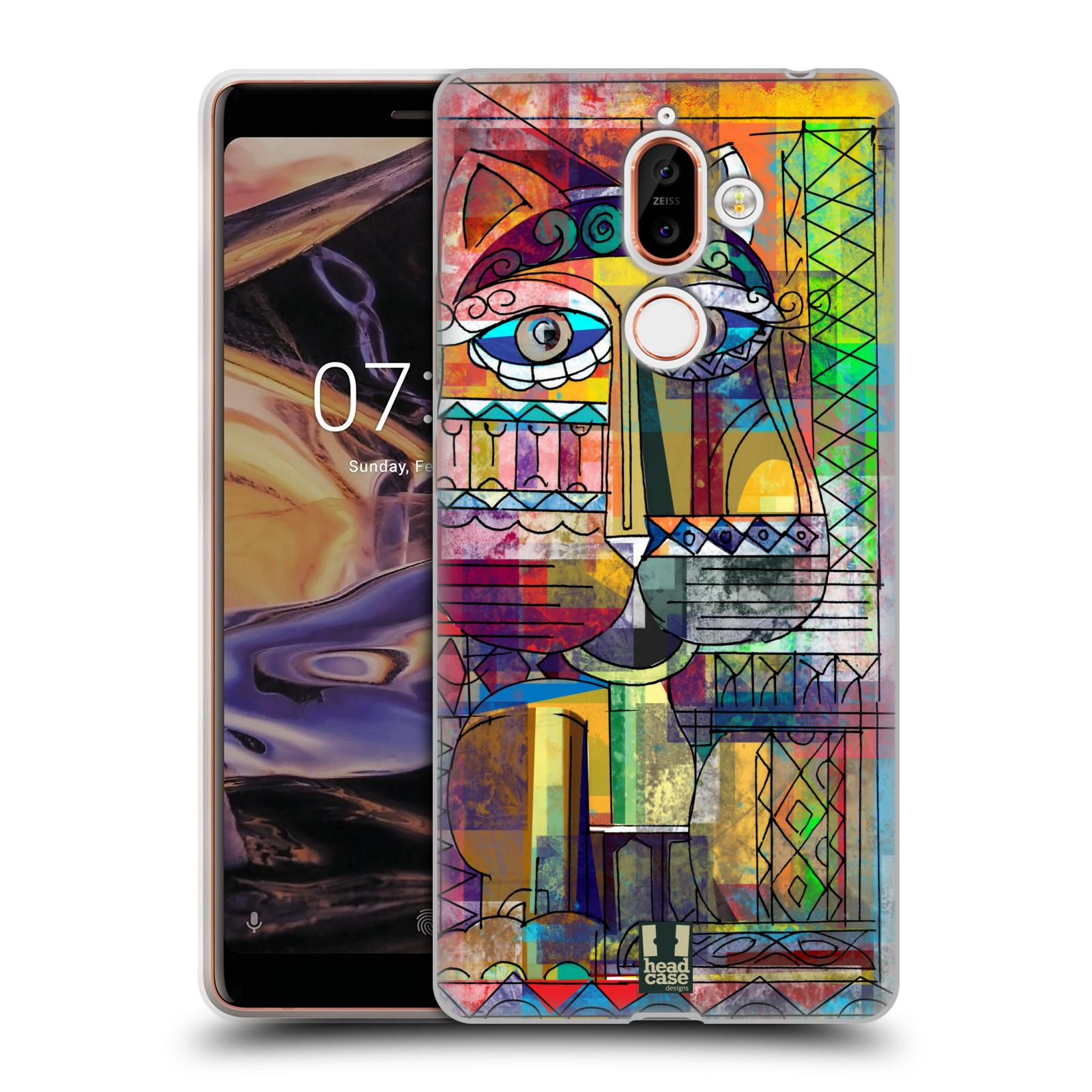 Silikonové pouzdro na mobil Nokia 7 Plus - Head Case - AZTEC KORAT