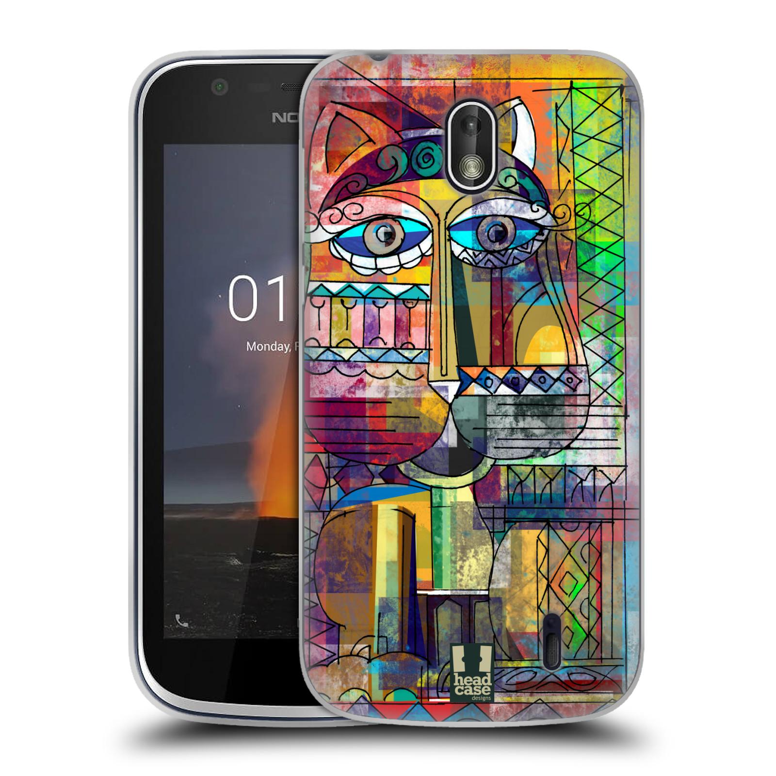 Silikonové pouzdro na mobil Nokia 1 - Head Case - AZTEC KORAT
