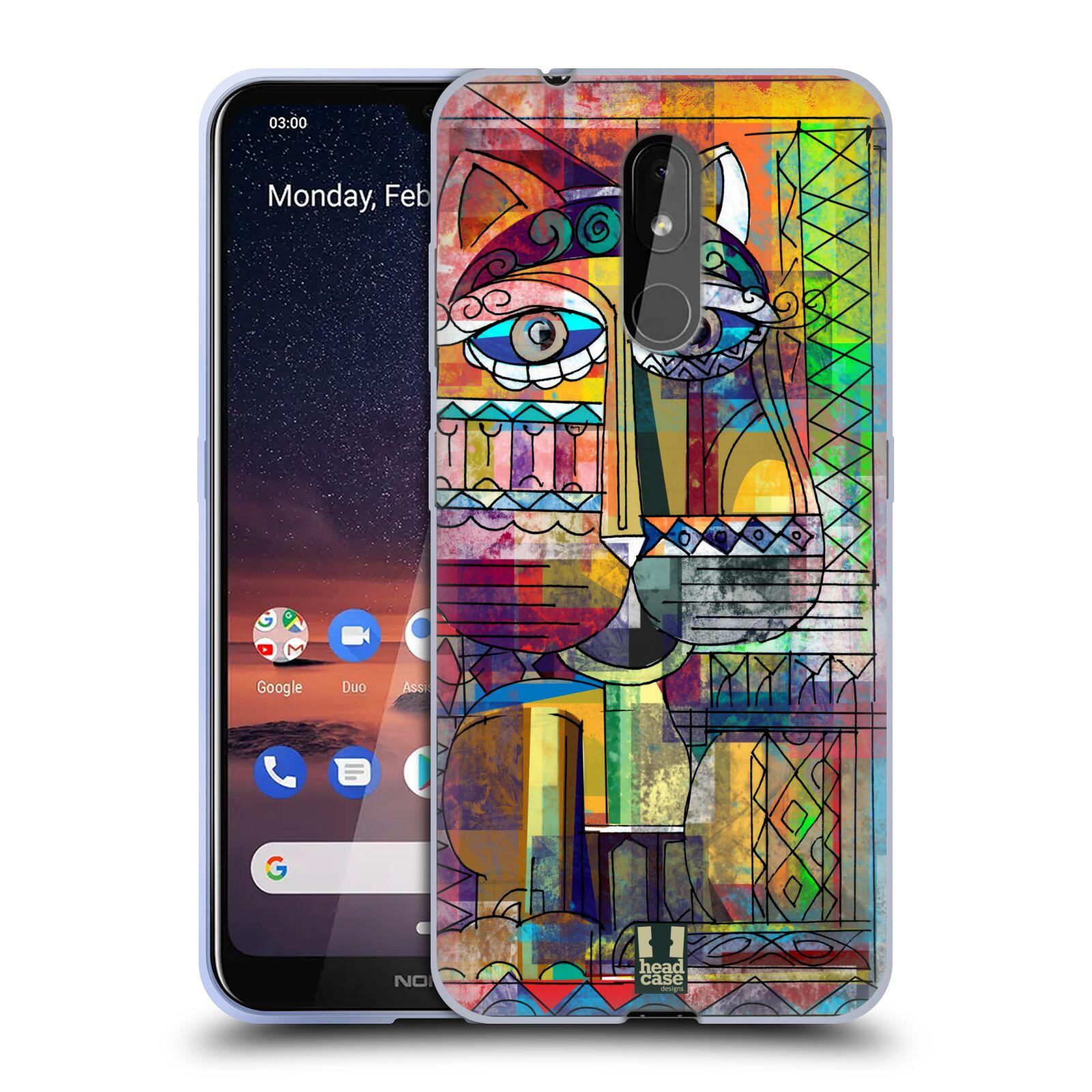 Silikonové pouzdro na mobil Nokia 3.2 - Head Case - AZTEC KORAT