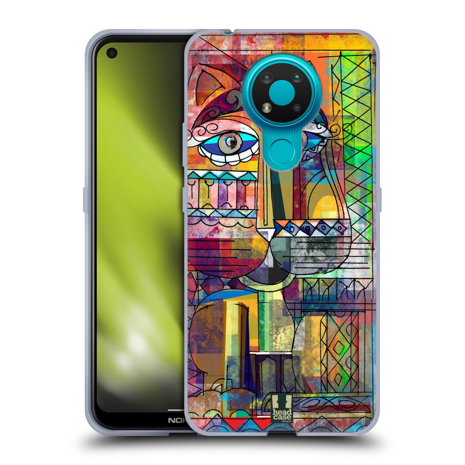 Silikonové pouzdro na mobil Nokia 3.4 - Head Case - AZTEC KORAT
