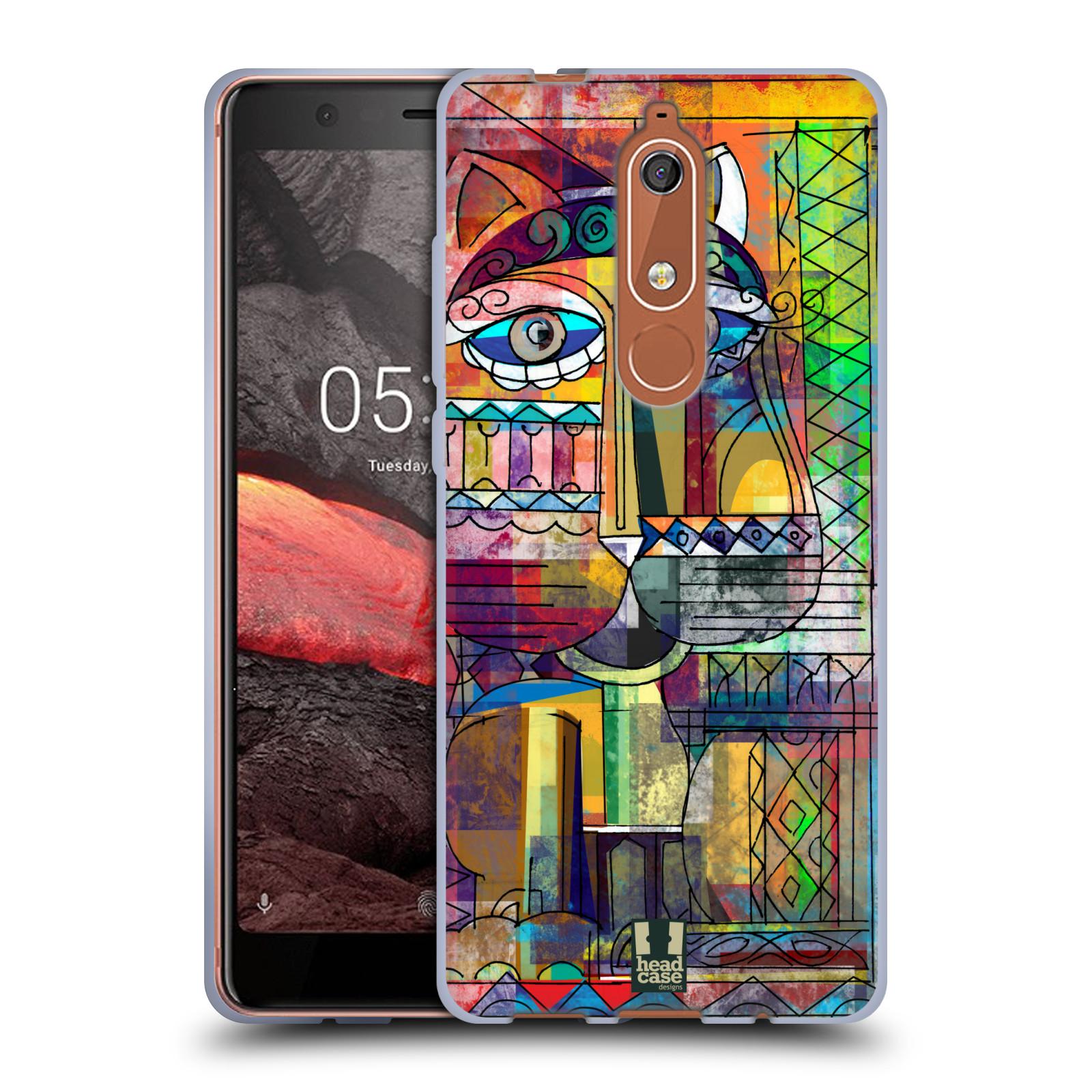 Silikonové pouzdro na mobil Nokia 5.1 - Head Case - AZTEC KORAT