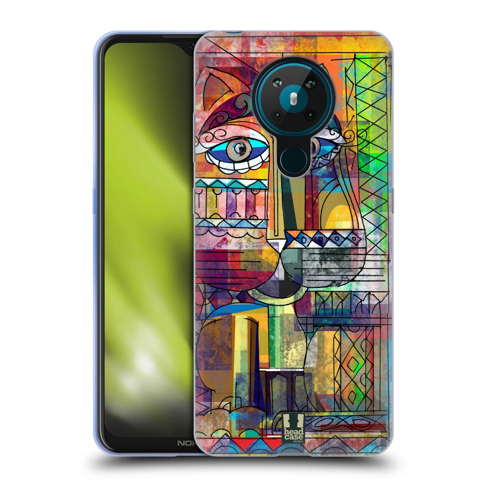 Silikonové pouzdro na mobil Nokia 5.3 - Head Case - AZTEC KORAT
