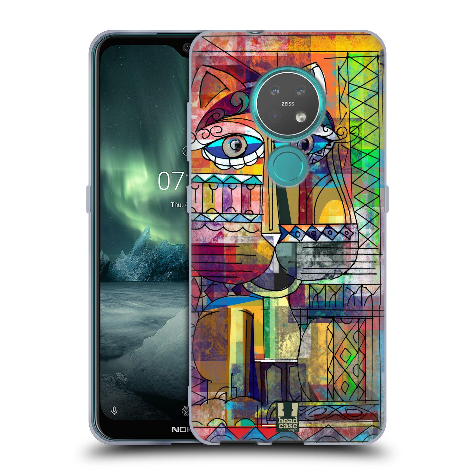 Silikonové pouzdro na mobil Nokia 7.2 - Head Case - AZTEC KORAT