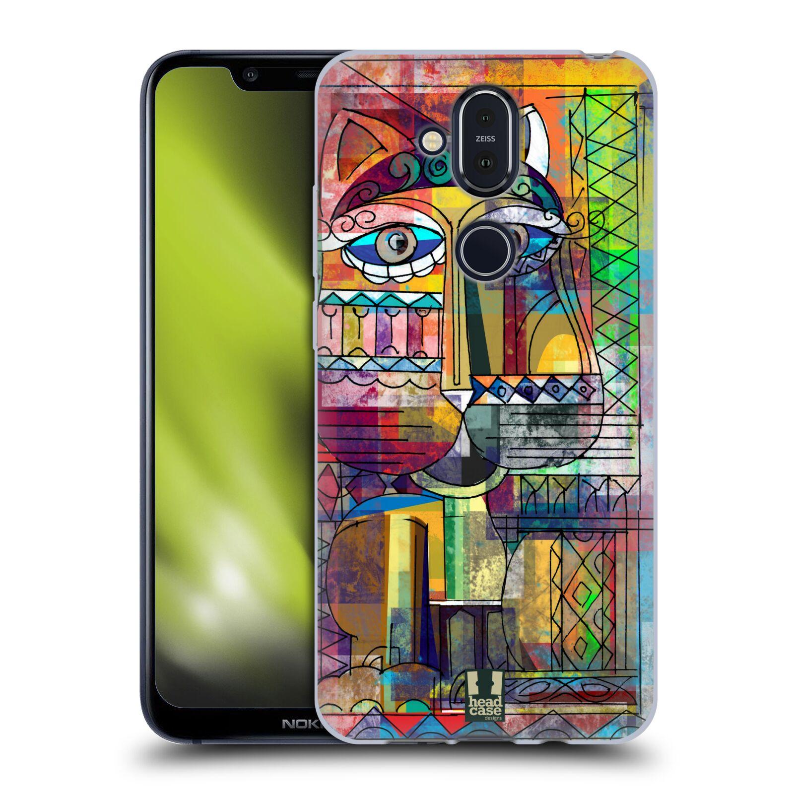 Silikonové pouzdro na mobil Nokia 8.1 - Head Case - AZTEC KORAT