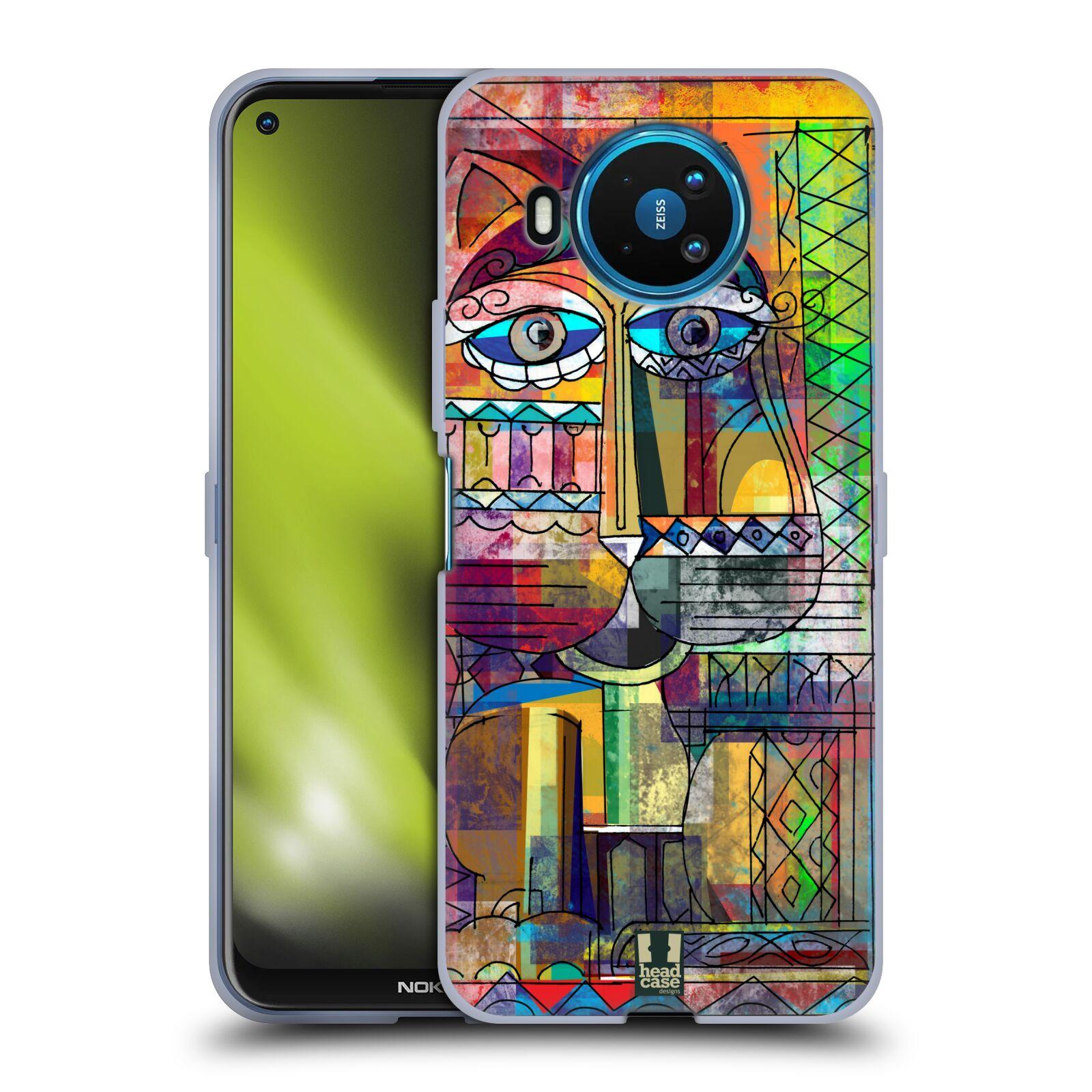 Silikonové pouzdro na mobil Nokia 8.3 5G - Head Case - AZTEC KORAT