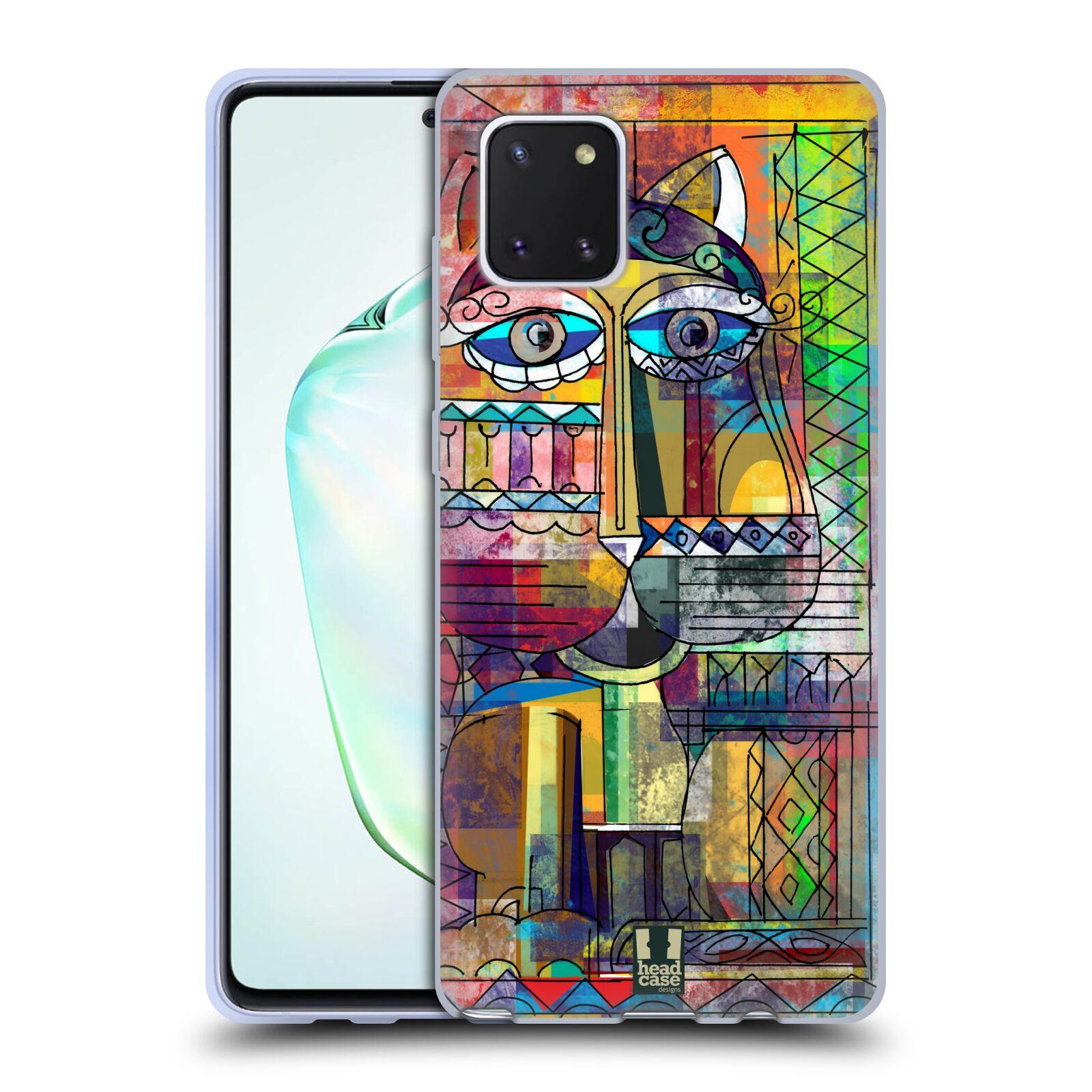 Silikonové pouzdro na mobil Samsung Galaxy Note 10 Lite - Head Case - AZTEC KORAT