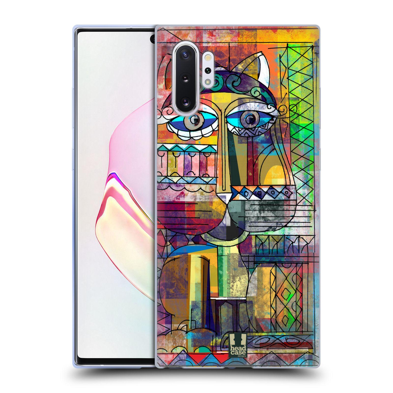 Silikonové pouzdro na mobil Samsung Galaxy Note 10 Plus - Head Case - AZTEC KORAT