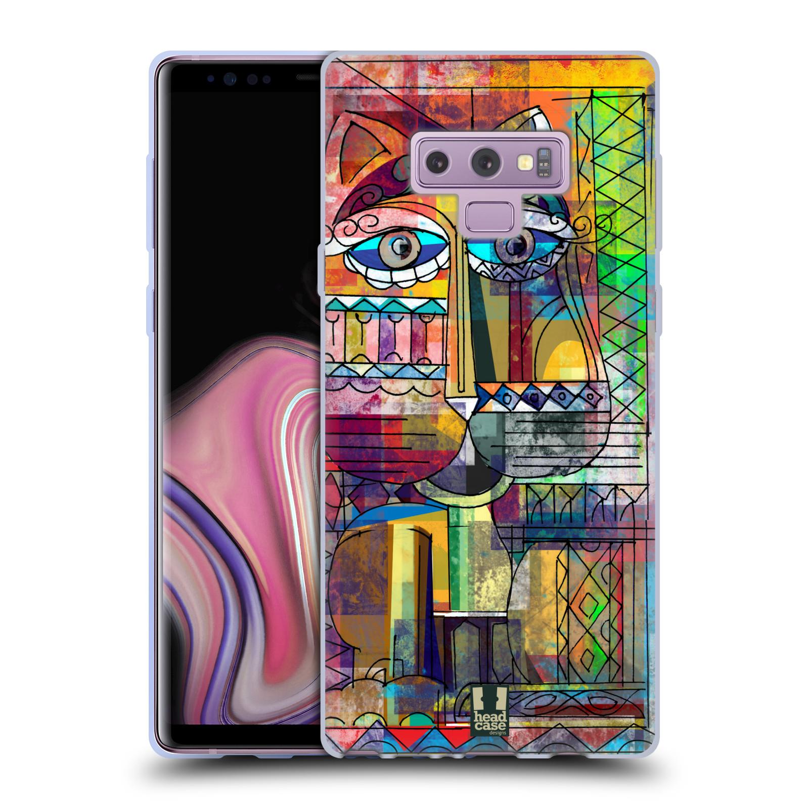 Silikonové pouzdro na mobil Samsung Galaxy Note 9 - Head Case - AZTEC KORAT