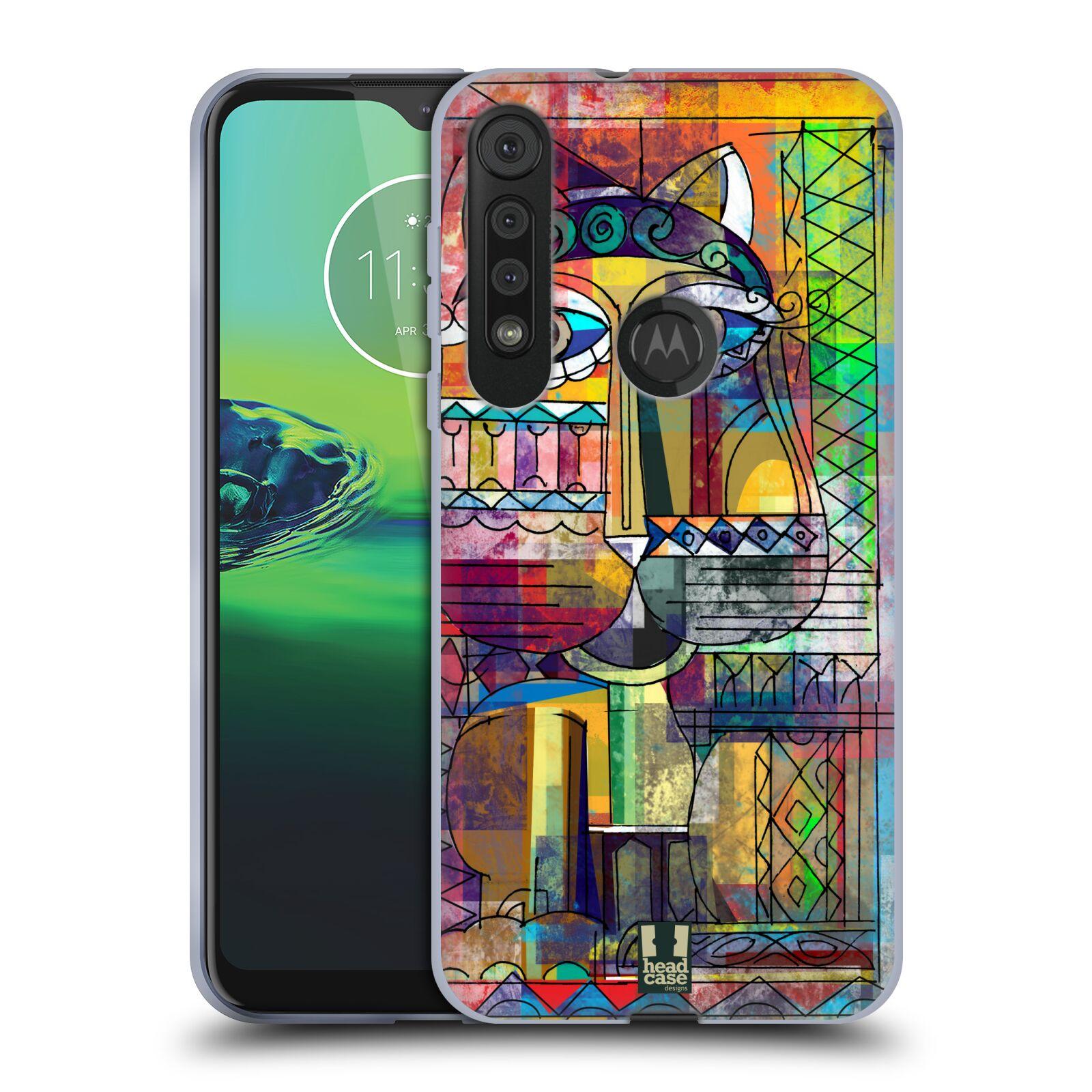 Silikonové pouzdro na mobil Motorola One Macro - Head Case - AZTEC KORAT