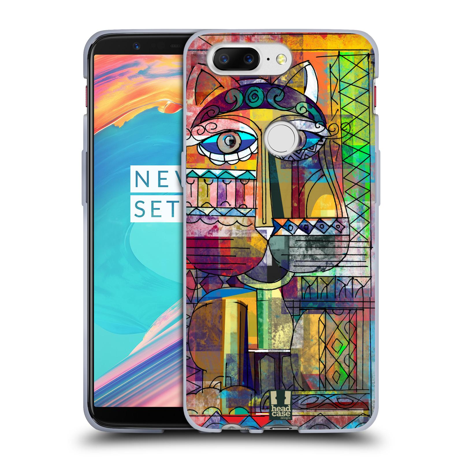 Silikonové pouzdro na mobil OnePlus 5T - Head Case - AZTEC KORAT
