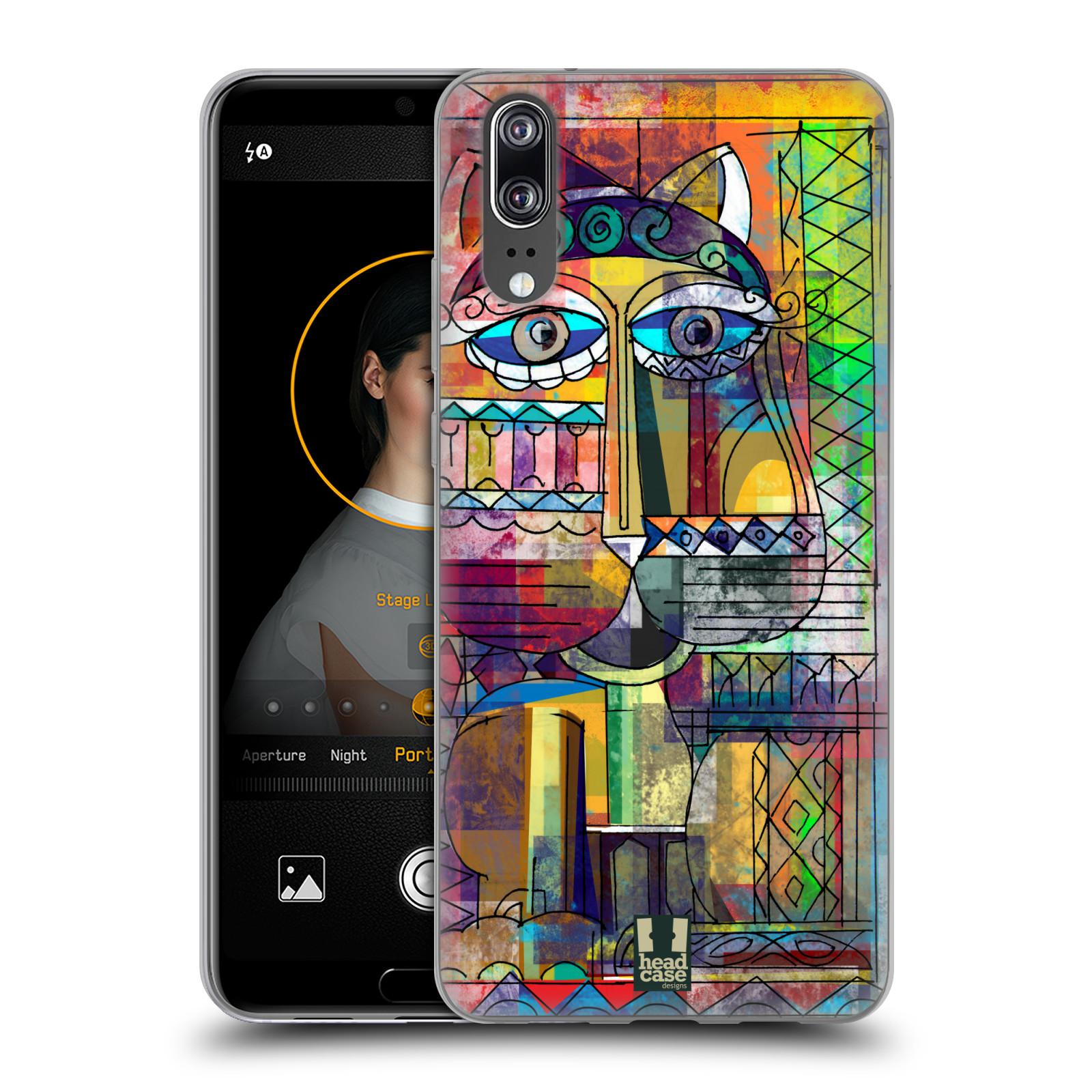Silikonové pouzdro na mobil Huawei P20 - Head Case - AZTEC KORAT