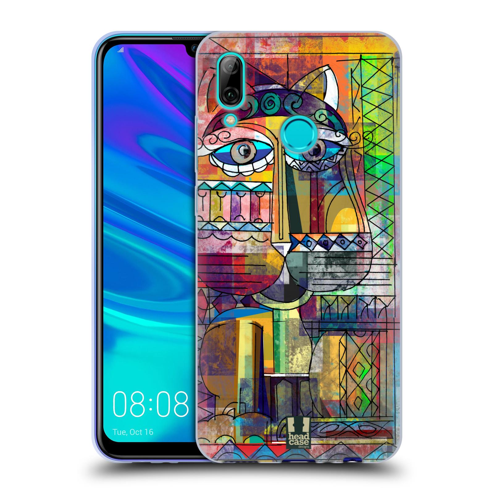 Silikonové pouzdro na mobil Huawei P Smart (2019) - Head Case - AZTEC KORAT