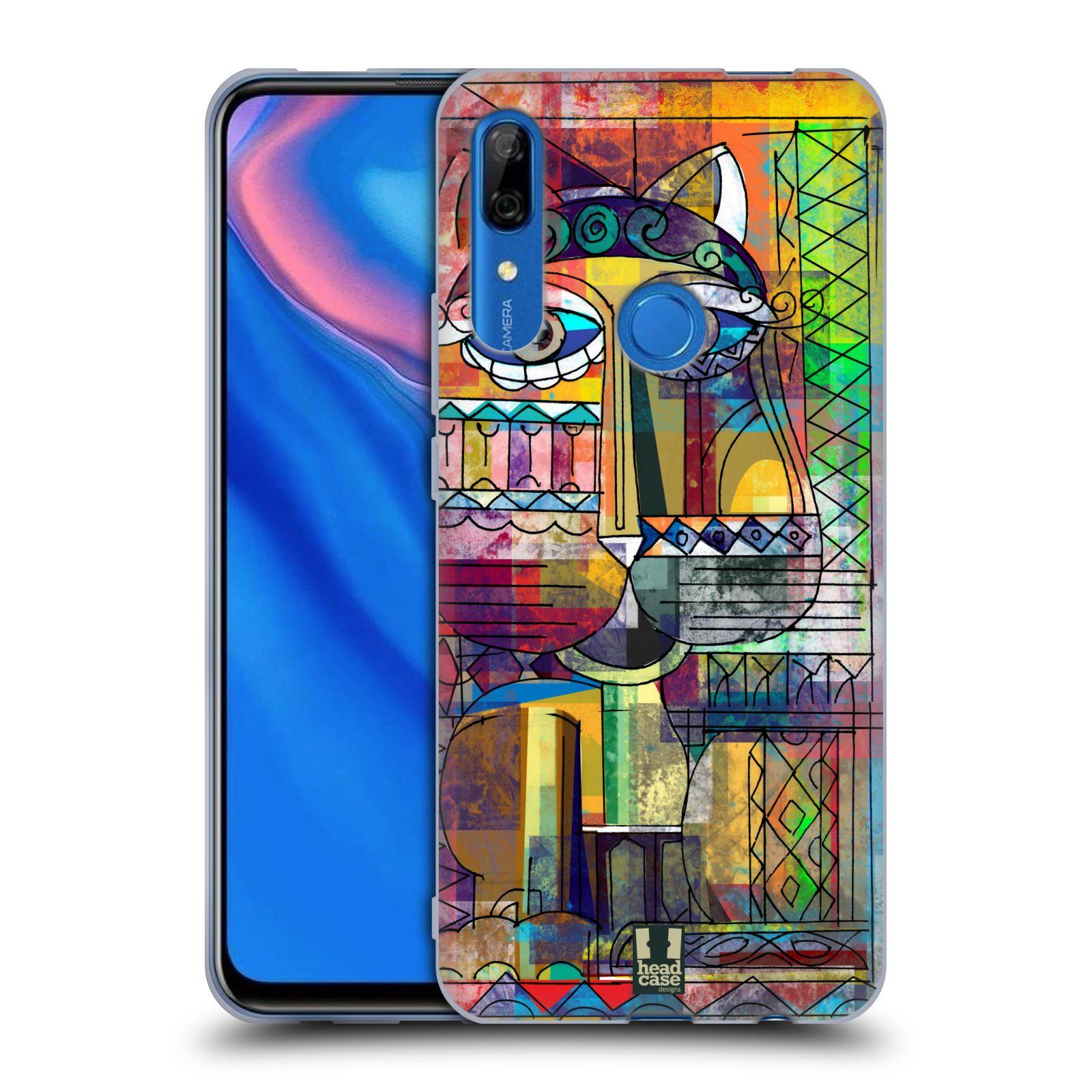 Silikonové pouzdro na mobil Huawei P Smart Z - Head Case - AZTEC KORAT