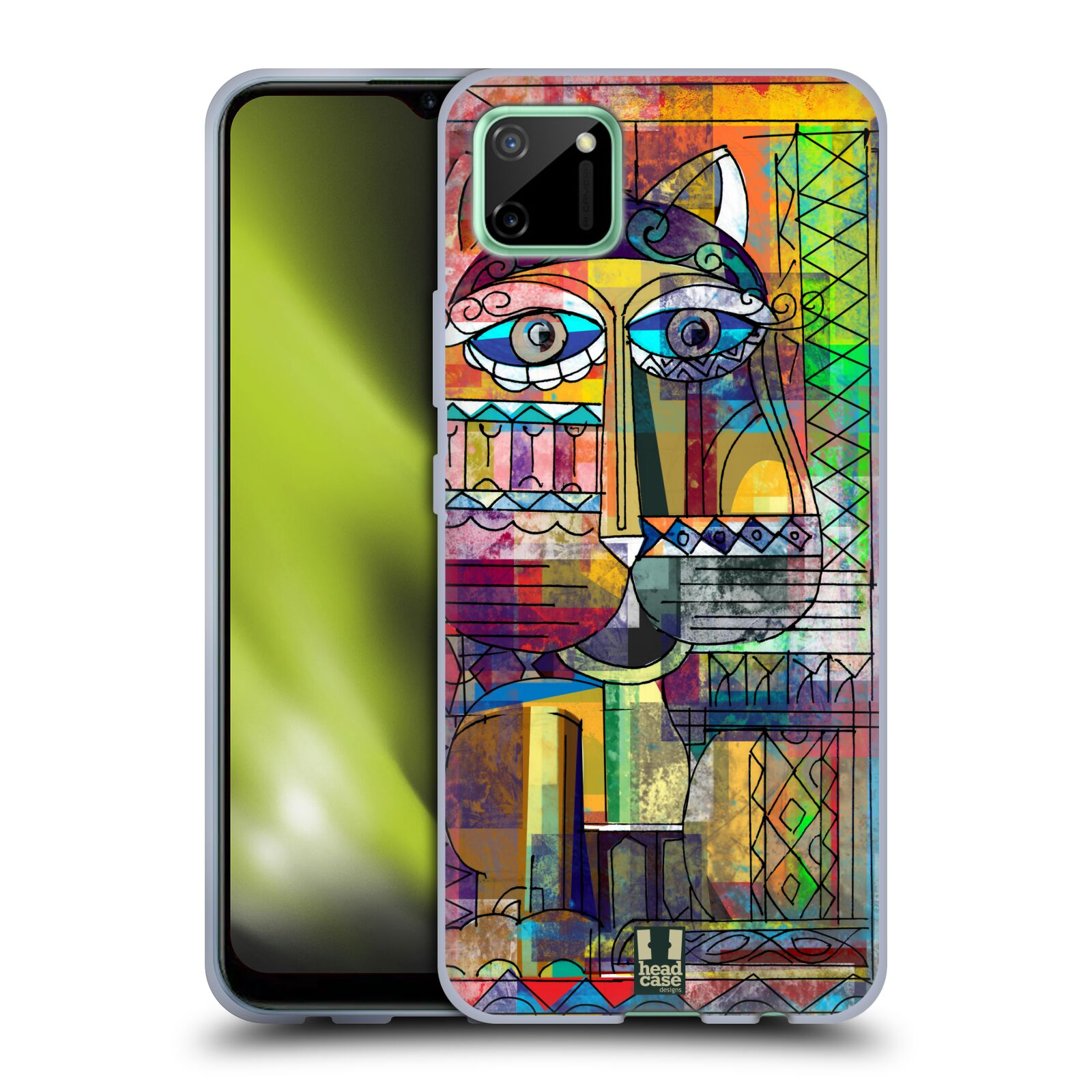 Silikonové pouzdro na mobil Realme C11 - Head Case - AZTEC KORAT
