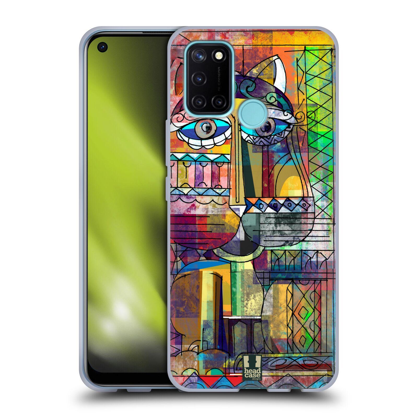 Silikonové pouzdro na mobil Realme 7i - Head Case - AZTEC KORAT