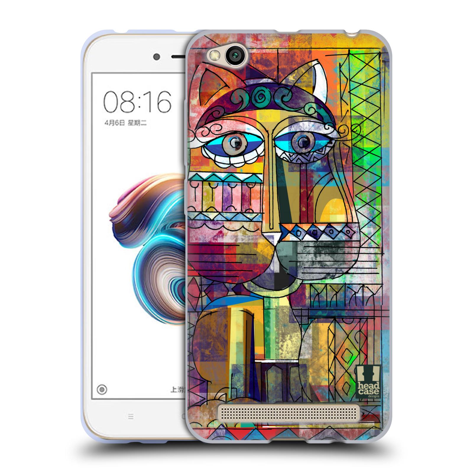 Silikonové pouzdro na mobil Xiaomi Redmi 5A - Head Case - AZTEC KORAT