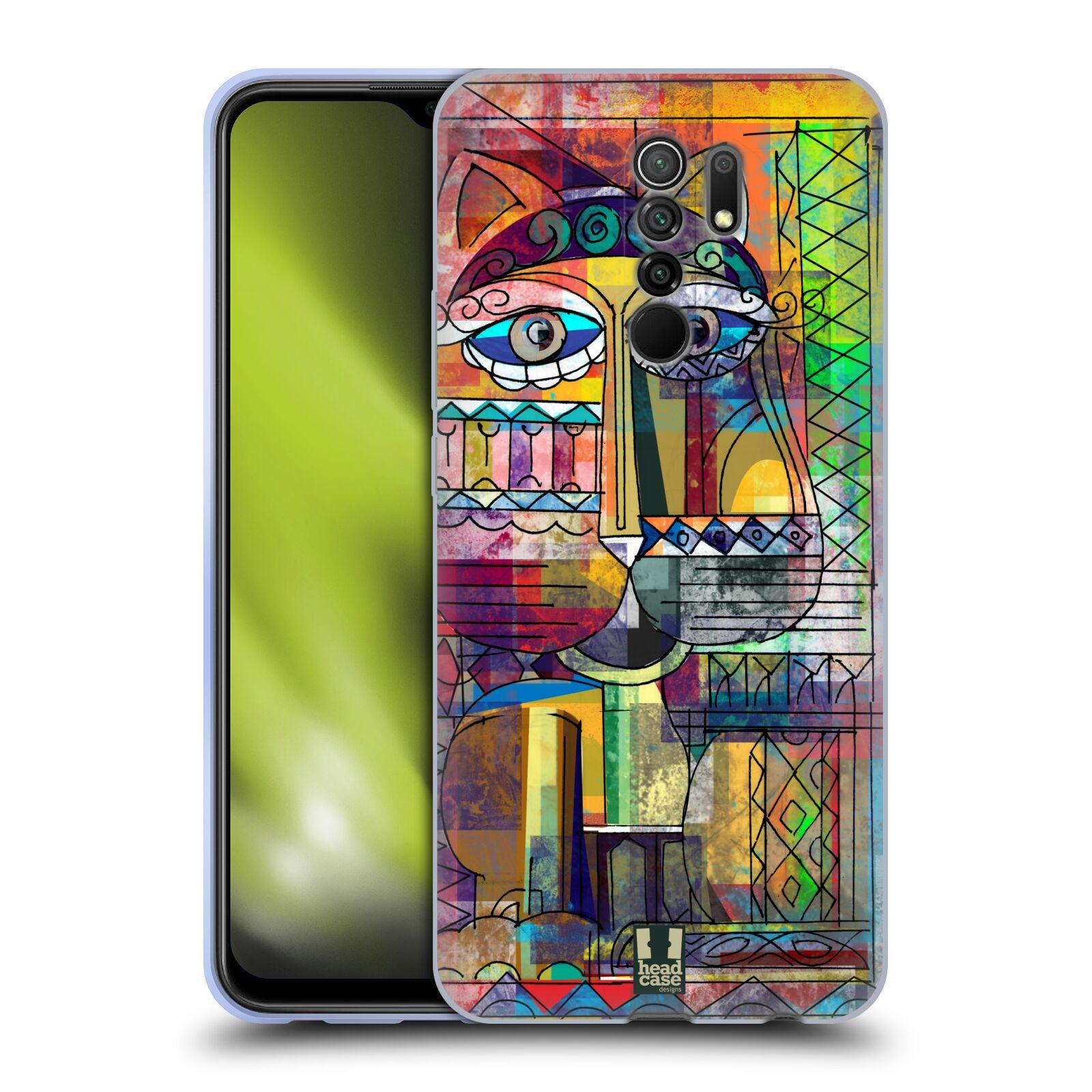 Silikonové pouzdro na mobil Xiaomi Redmi 9 - Head Case - AZTEC KORAT