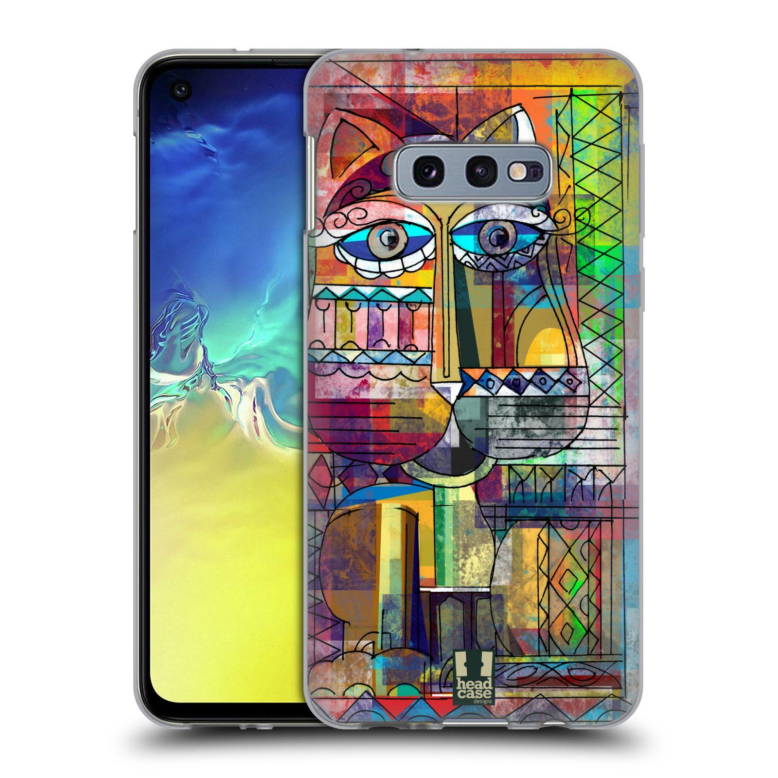 Silikonové pouzdro na mobil Samsung Galaxy S10e - Head Case - AZTEC KORAT