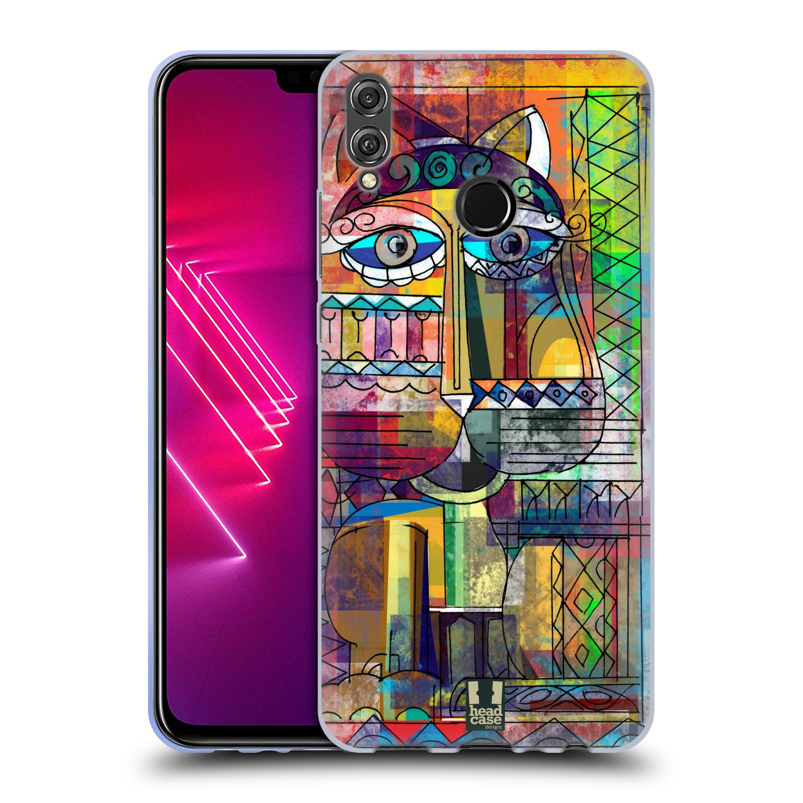Silikonové pouzdro na mobil Honor View 10 Lite - Head Case - AZTEC KORAT