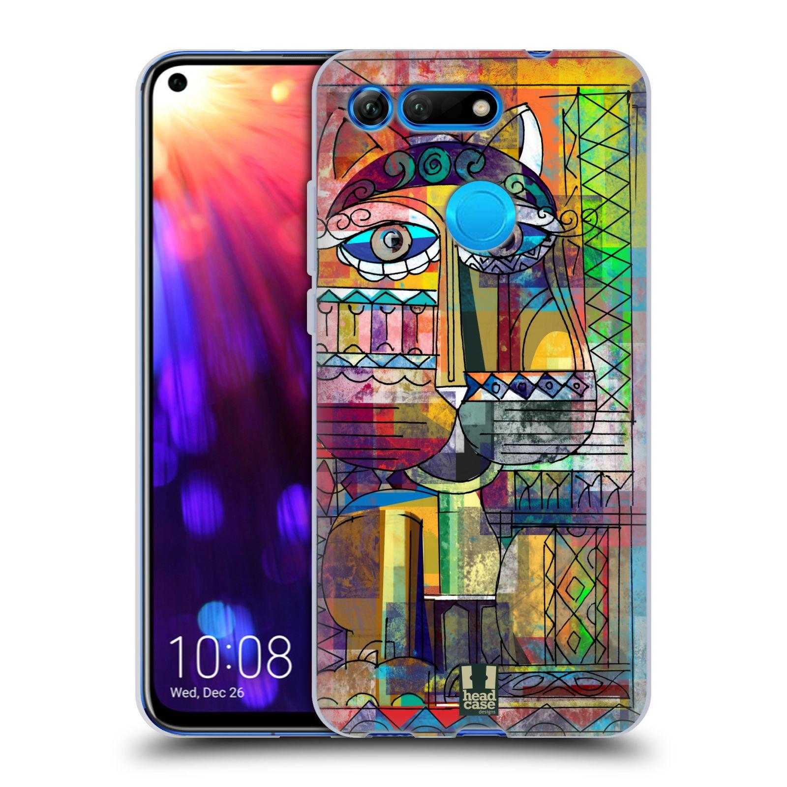 Silikonové pouzdro na mobil Honor View 20 - Head Case - AZTEC KORAT