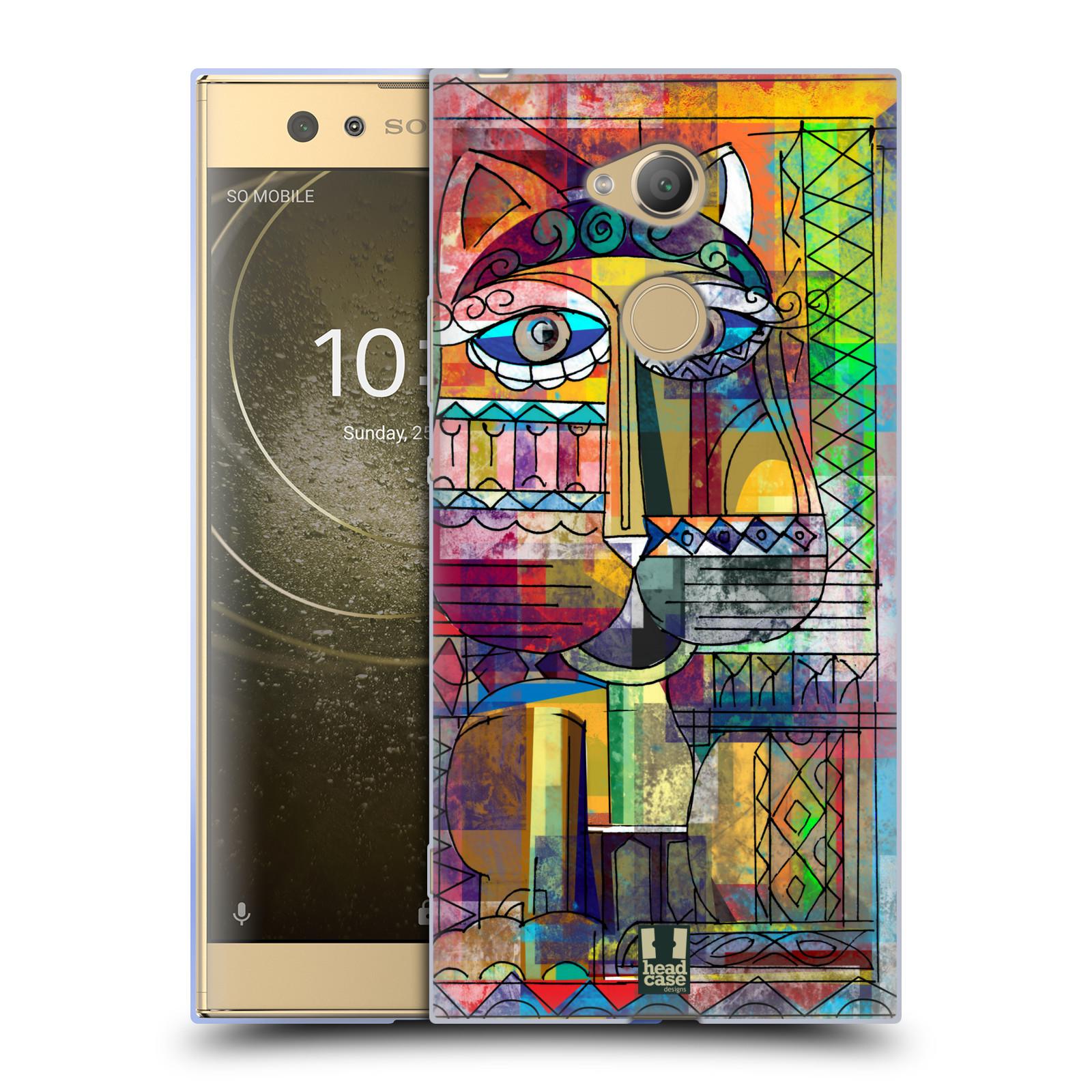 Silikonové pouzdro na mobil Sony Xperia XA2 Ultra - Head Case - AZTEC KORAT