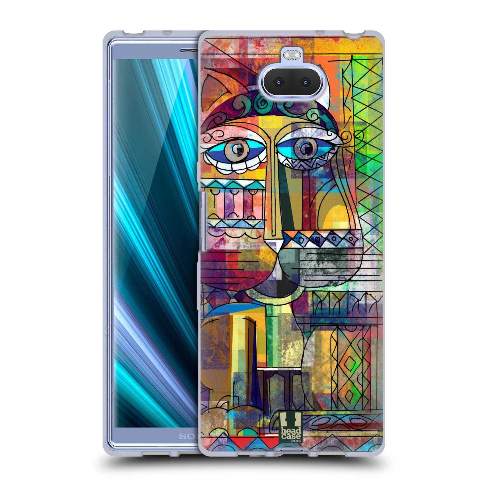 Silikonové pouzdro na mobil Sony Xperia 10 - Head Case - AZTEC KORAT