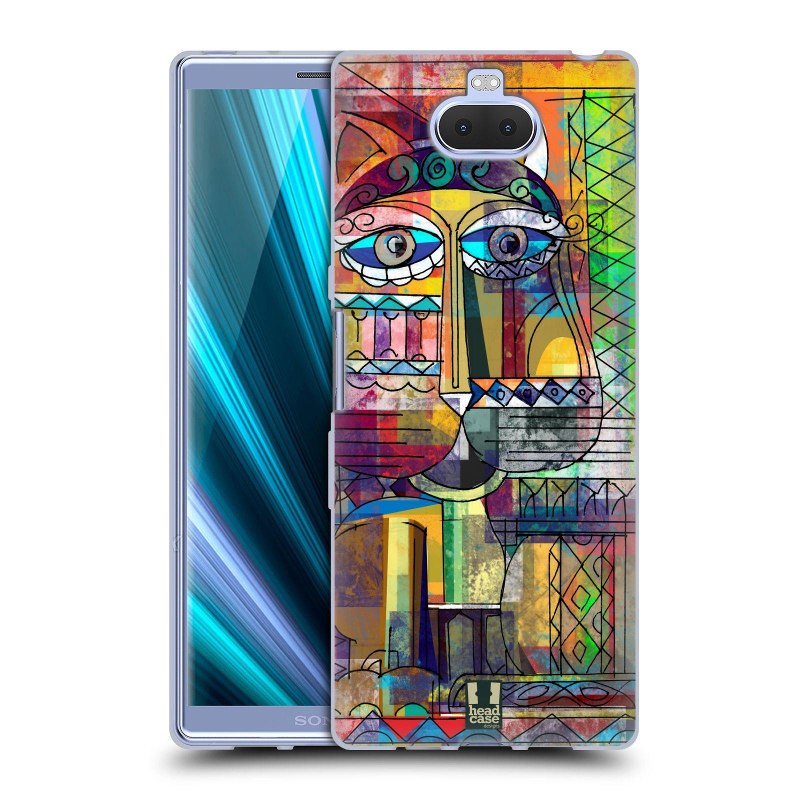 Silikonové pouzdro na mobil Sony Xperia 10 Plus - Head Case - AZTEC KORAT