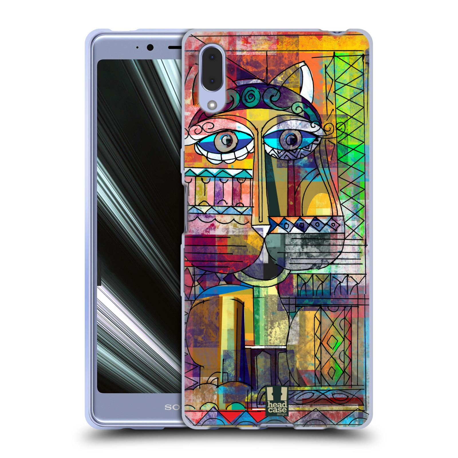 Silikonové pouzdro na mobil Sony Xperia L3 - Head Case - AZTEC KORAT