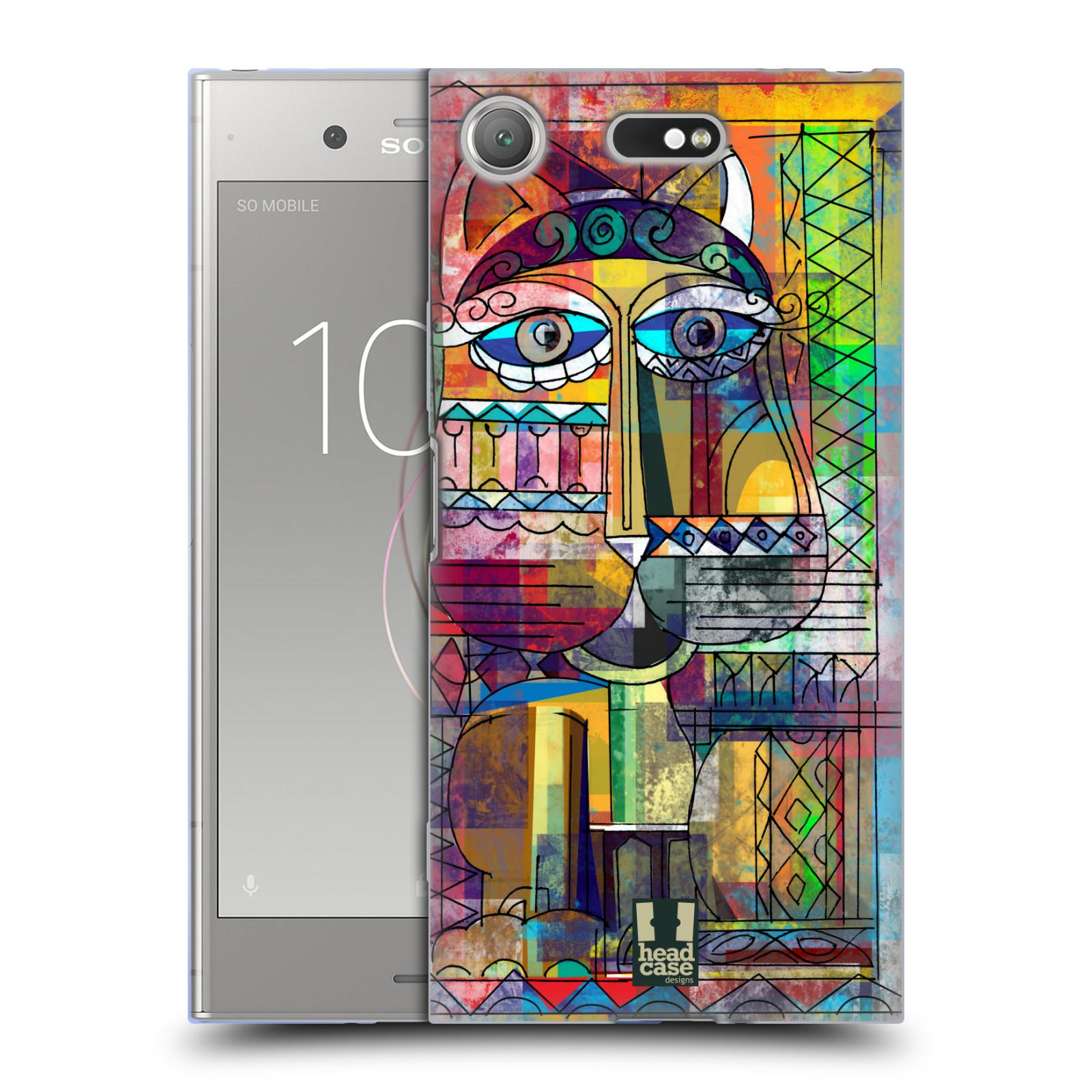 Silikonové pouzdro na mobil Sony Xperia XZ1 Compact - Head Case - AZTEC KORAT