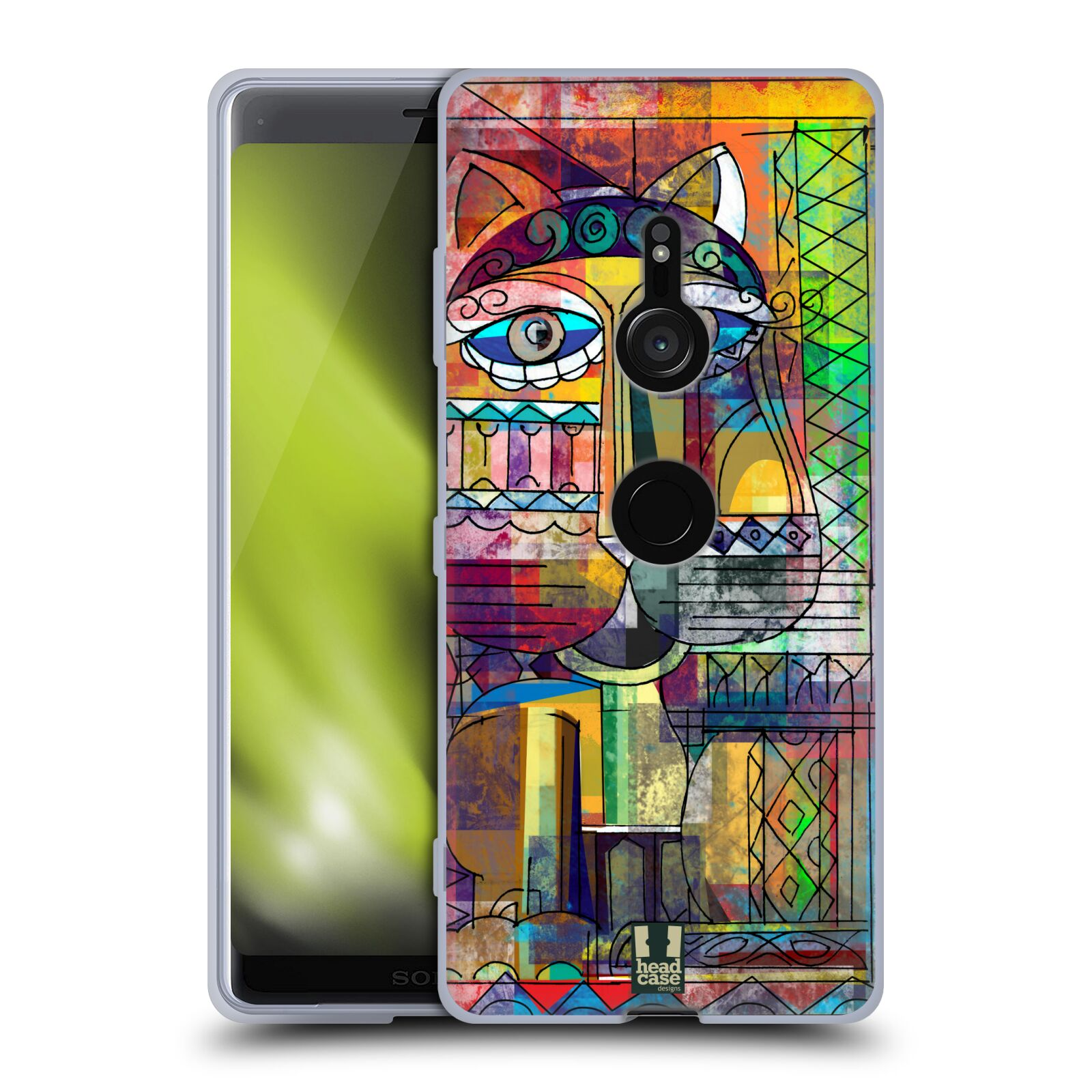 Silikonové pouzdro na mobil Sony Xperia XZ3 - Head Case - AZTEC KORAT
