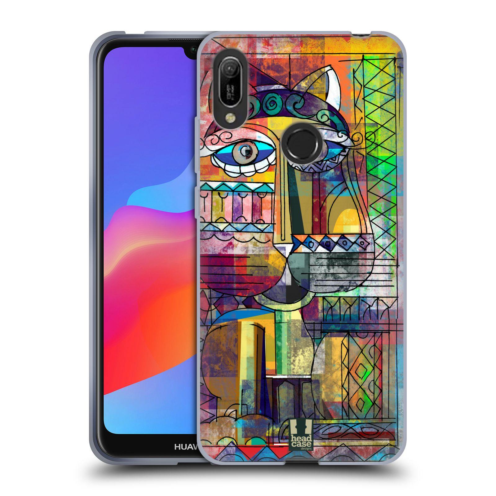 Silikonové pouzdro na mobil Huawei Y6 (2019) - Head Case - AZTEC KORAT