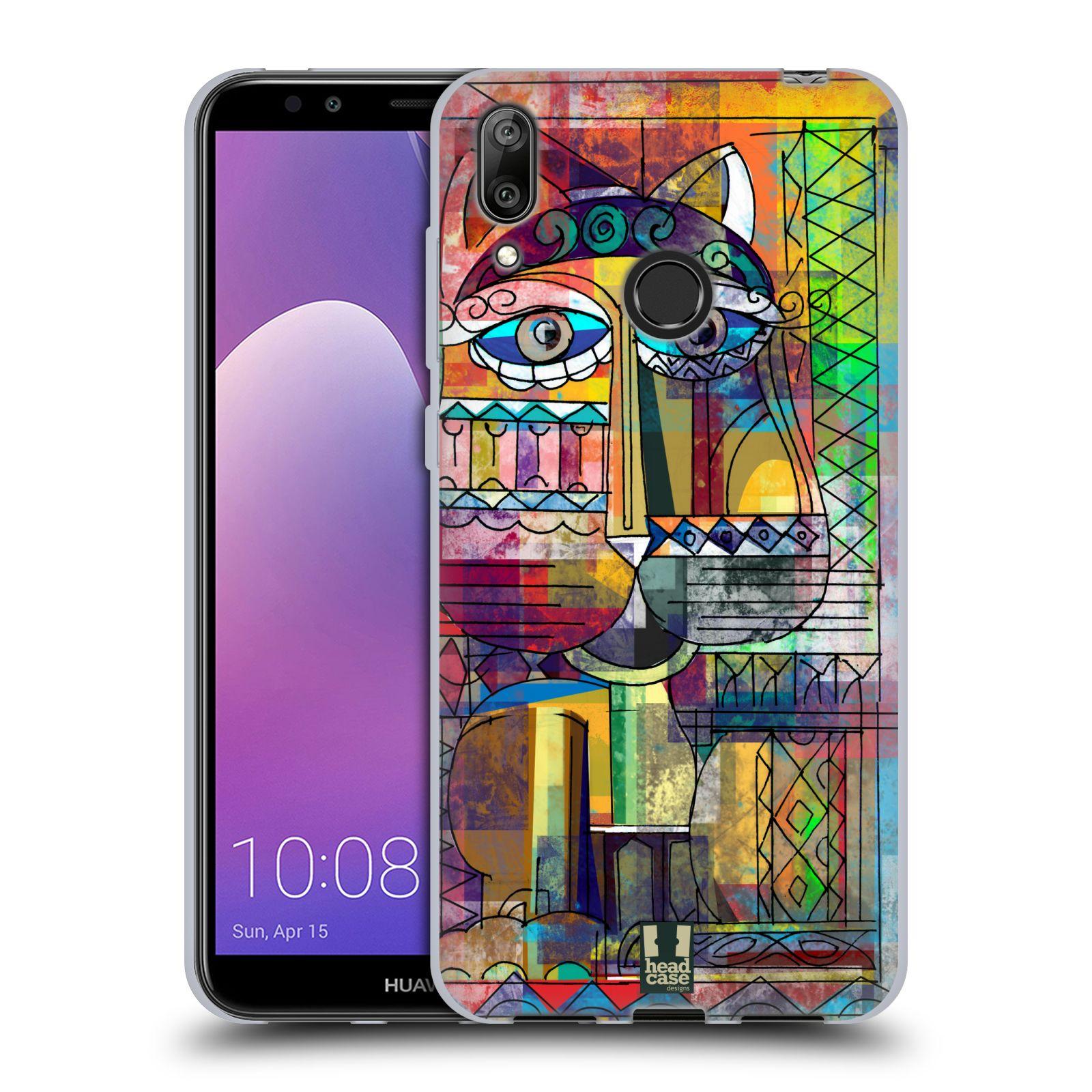 Silikonové pouzdro na mobil Huawei Y7 (2019) - Head Case - AZTEC KORAT